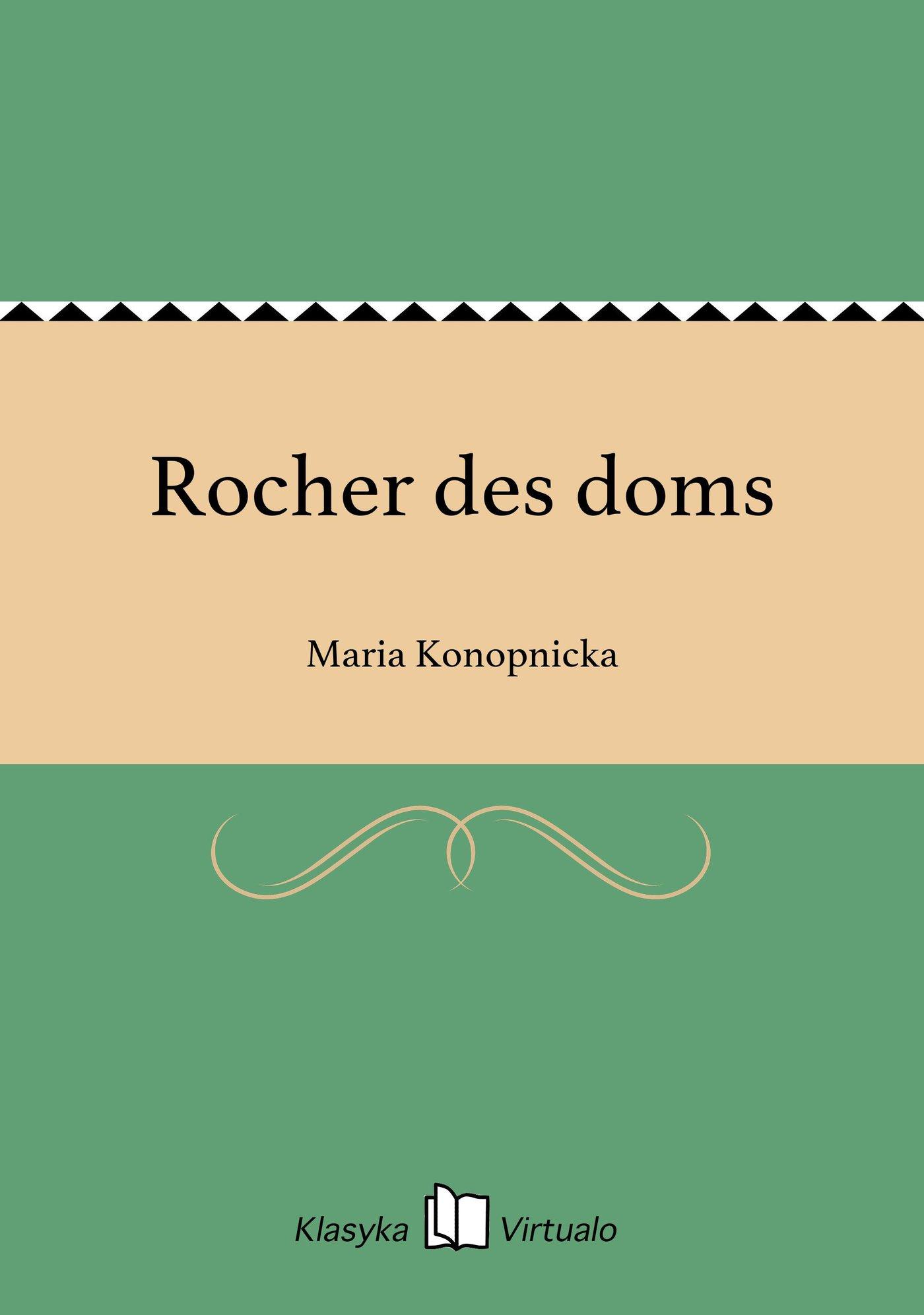 Rocher des doms - Ebook (Książka EPUB) do pobrania w formacie EPUB