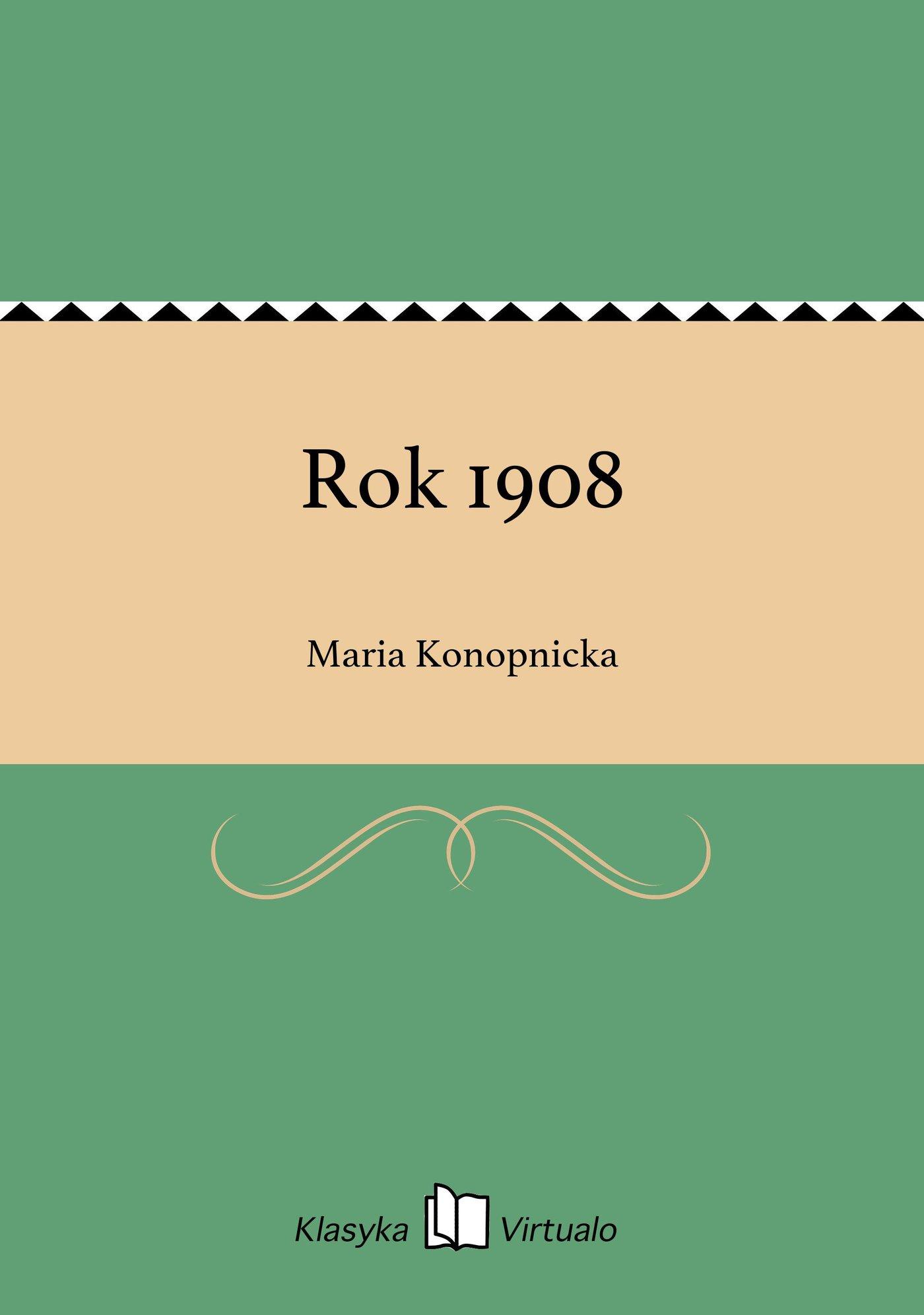 Rok 1908 - Ebook (Książka EPUB) do pobrania w formacie EPUB