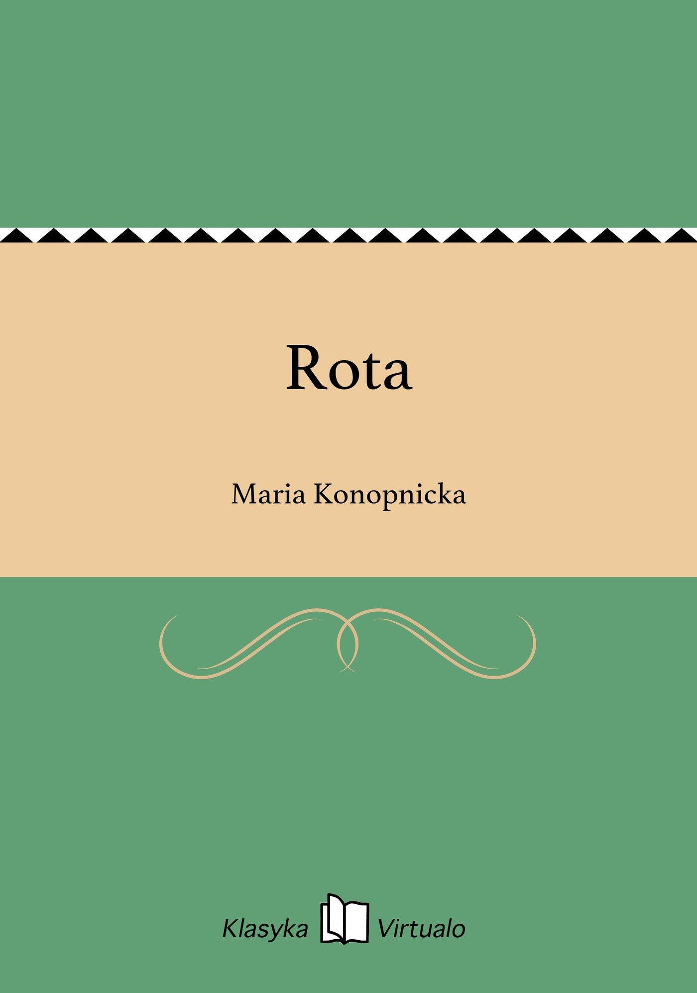 Rota - Ebook (Książka EPUB) do pobrania w formacie EPUB