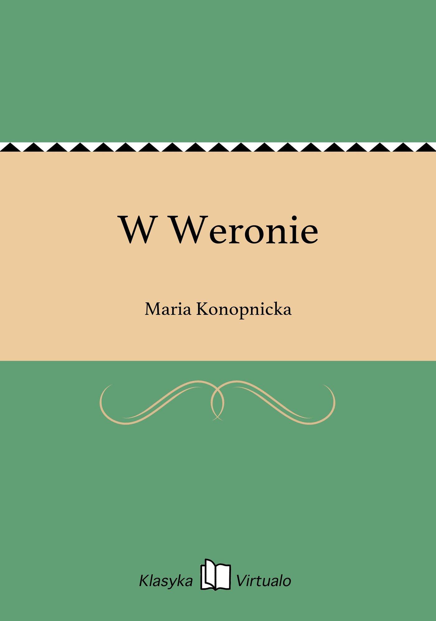 W Weronie - Ebook (Książka EPUB) do pobrania w formacie EPUB
