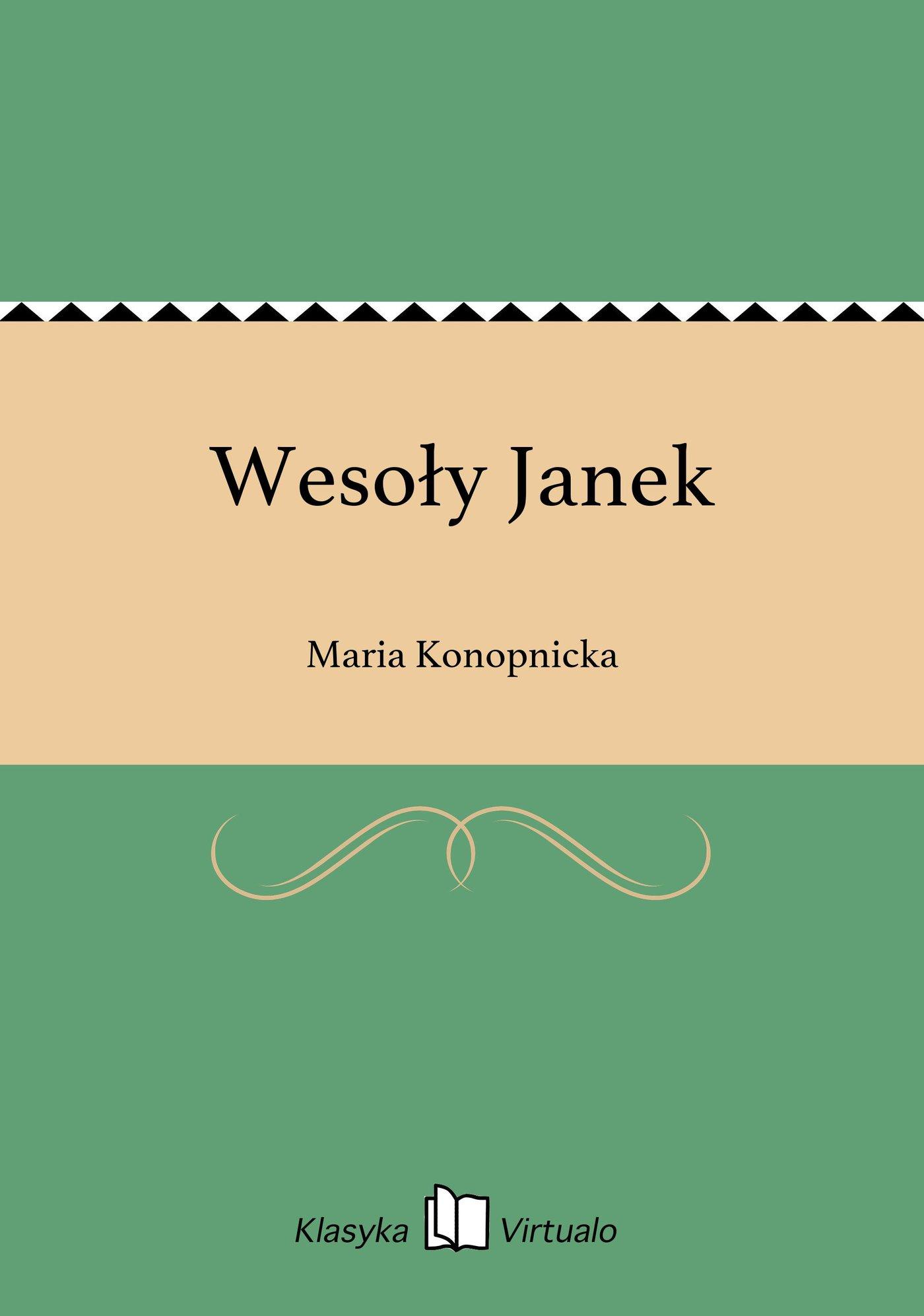 Wesoły Janek - Ebook (Książka EPUB) do pobrania w formacie EPUB