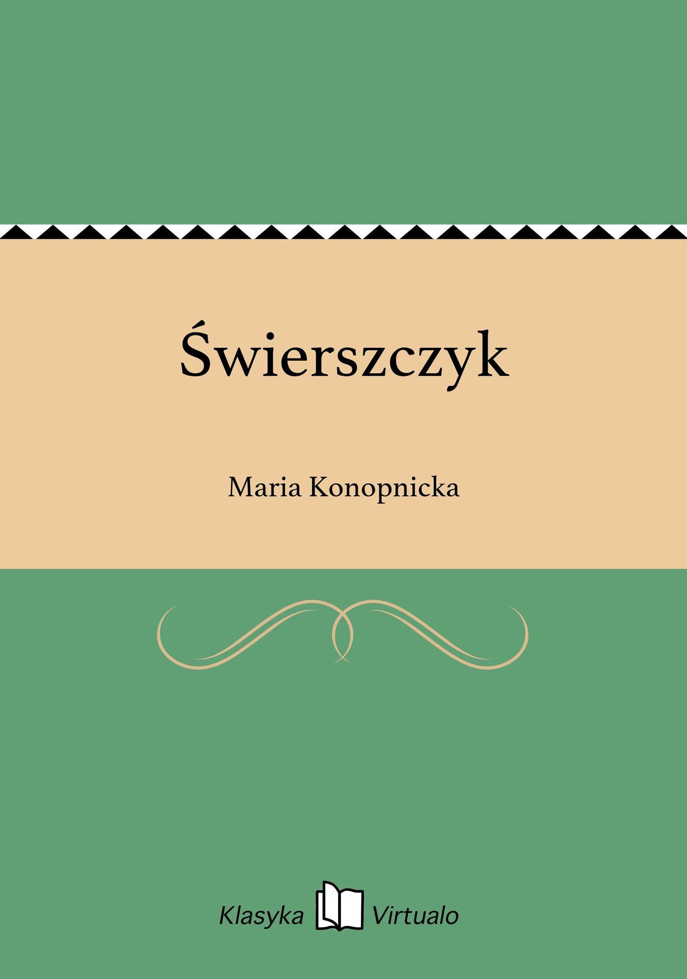 Świerszczyk - Ebook (Książka EPUB) do pobrania w formacie EPUB