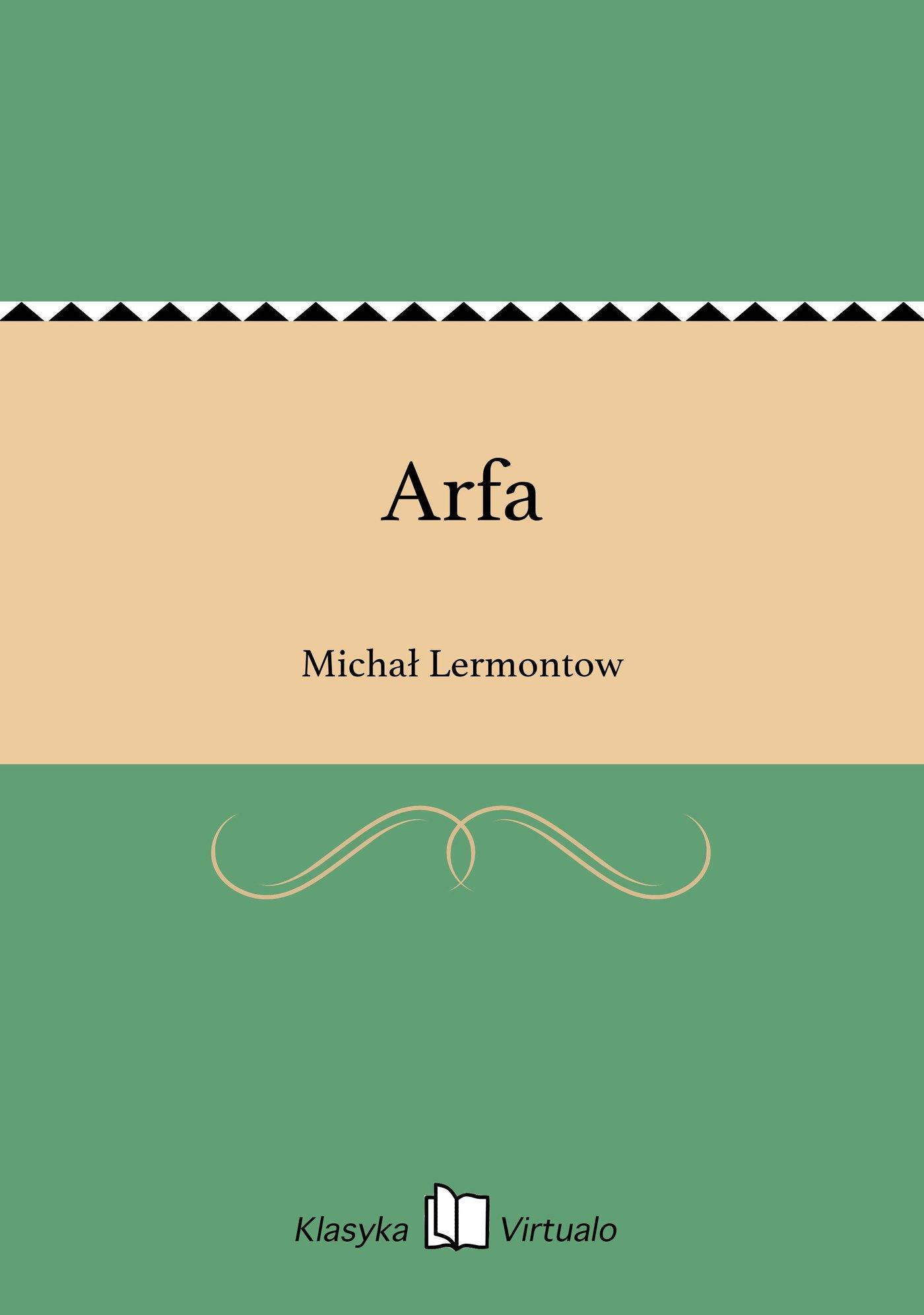 Arfa - Ebook (Książka EPUB) do pobrania w formacie EPUB