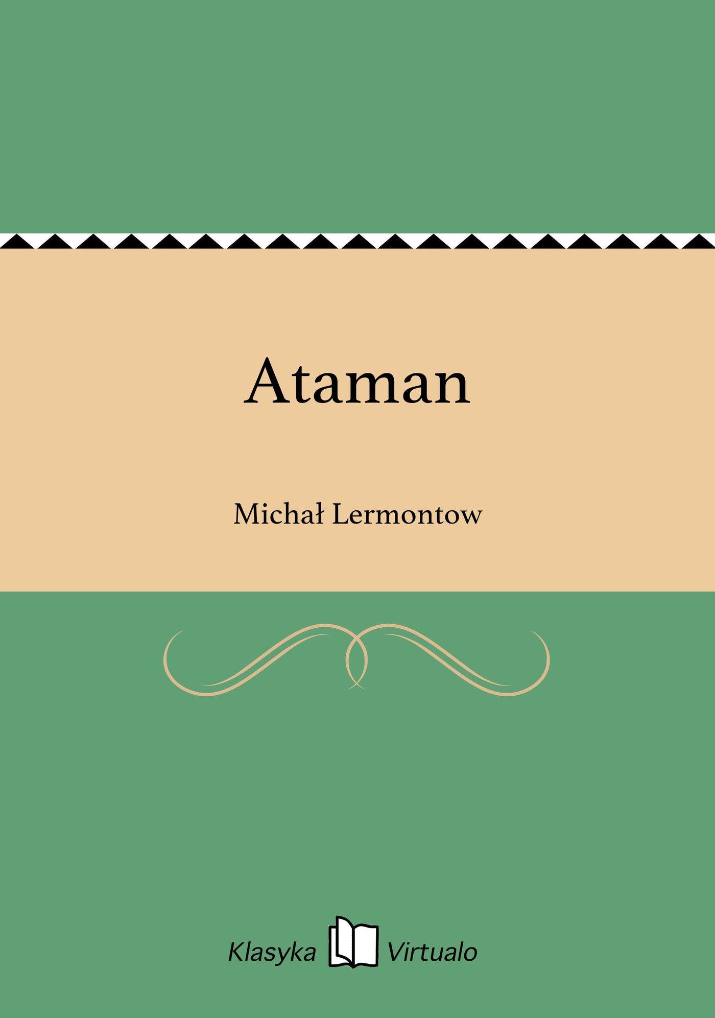 Ataman - Ebook (Książka EPUB) do pobrania w formacie EPUB