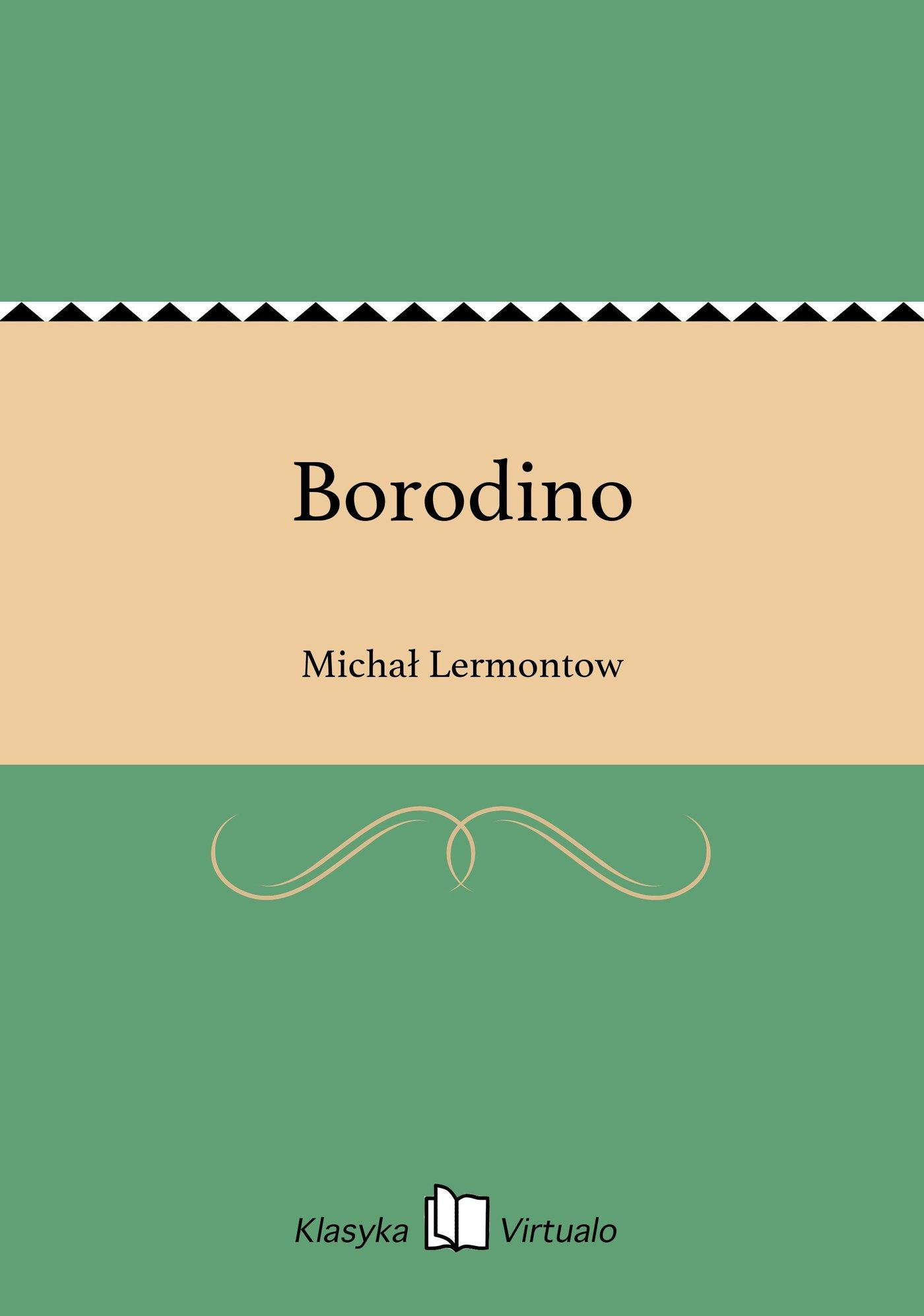 Borodino - Ebook (Książka EPUB) do pobrania w formacie EPUB