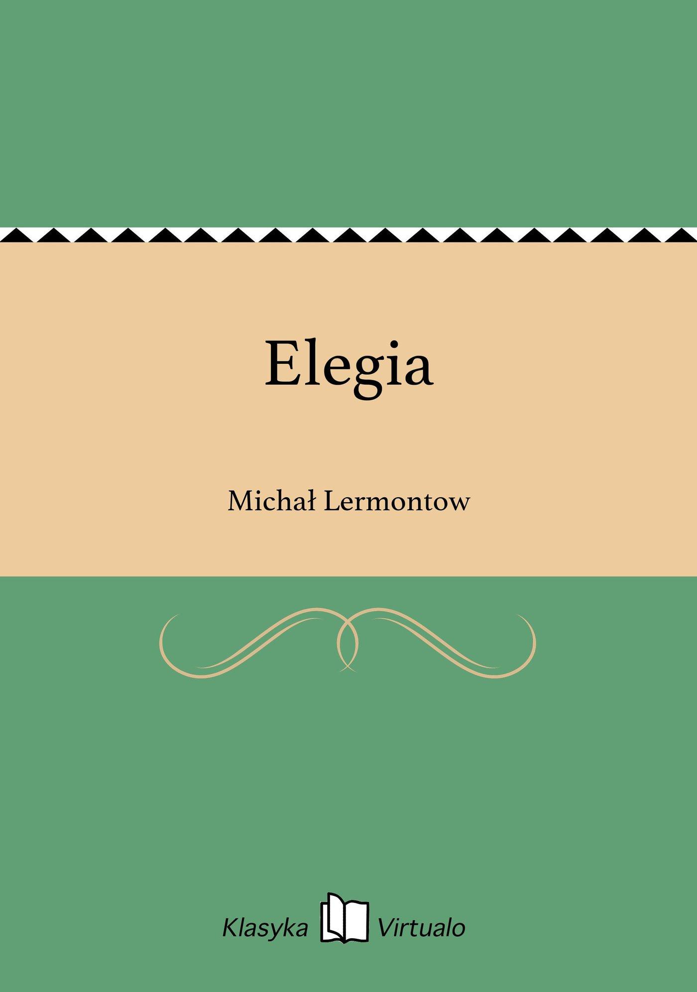 Elegia - Ebook (Książka EPUB) do pobrania w formacie EPUB