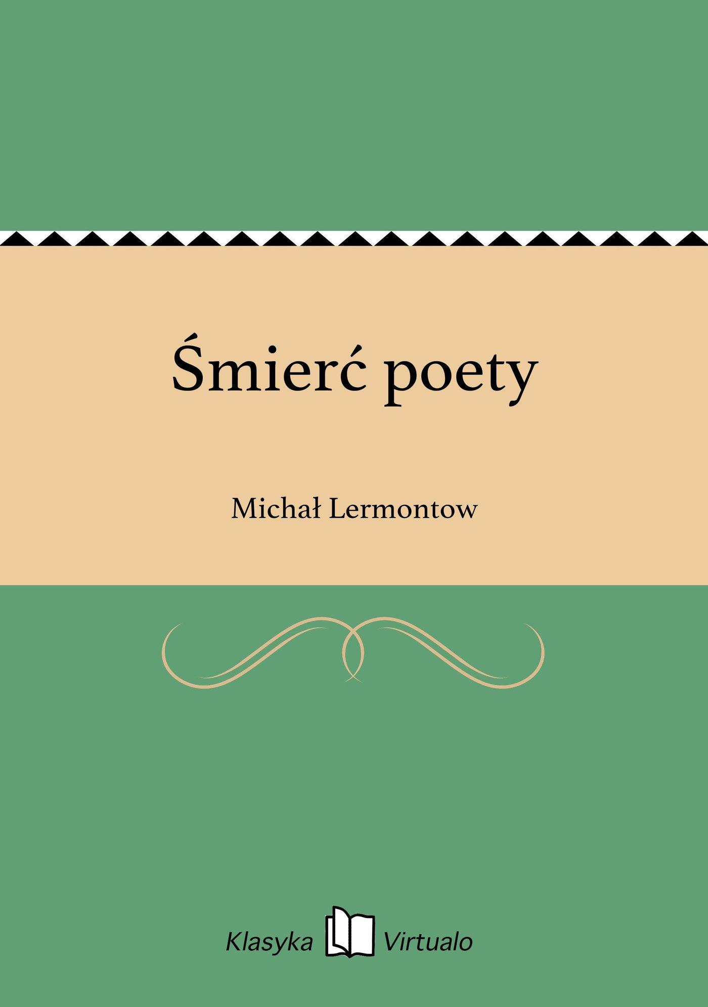 Śmierć poety - Ebook (Książka EPUB) do pobrania w formacie EPUB