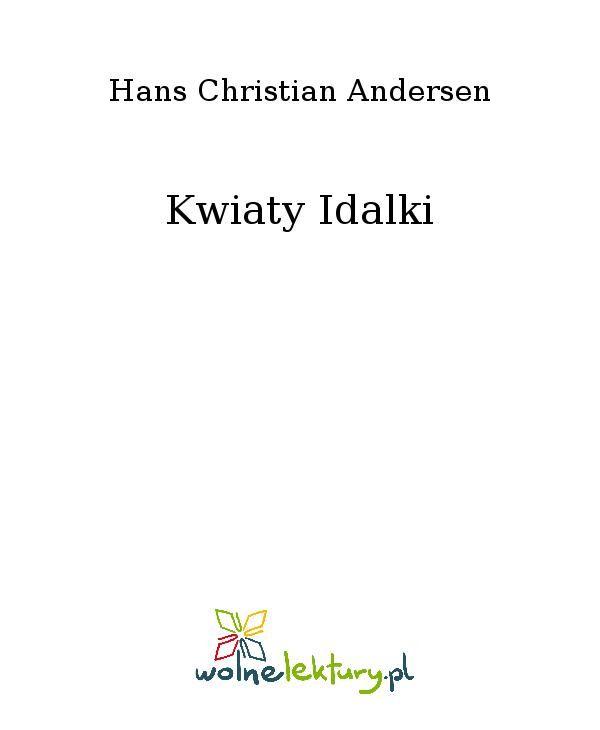 Kwiaty Idalki - Ebook (Książka EPUB) do pobrania w formacie EPUB