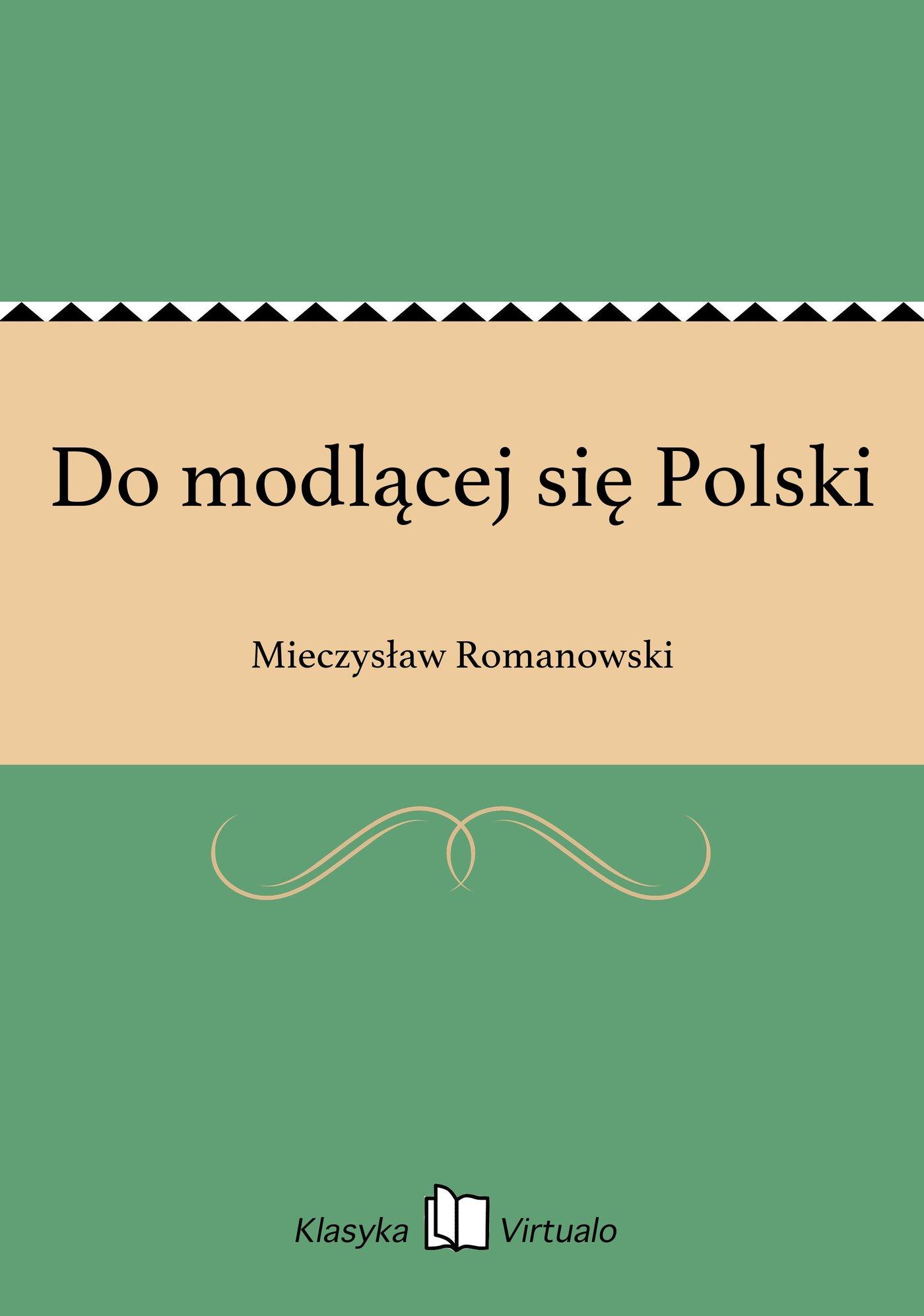 Do modlącej się Polski - Ebook (Książka EPUB) do pobrania w formacie EPUB