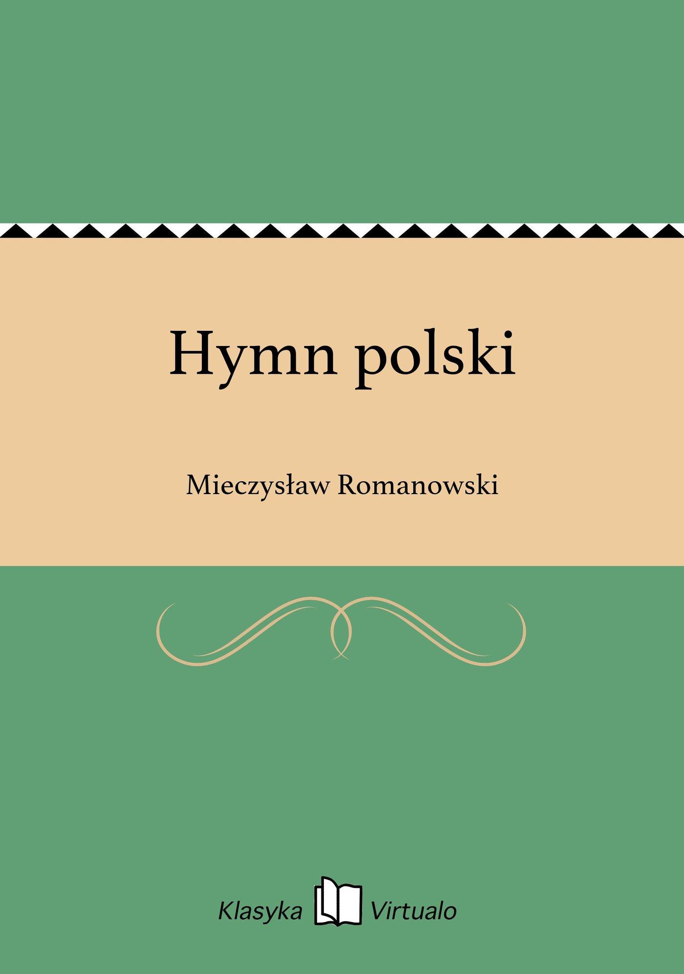 Hymn polski - Ebook (Książka EPUB) do pobrania w formacie EPUB