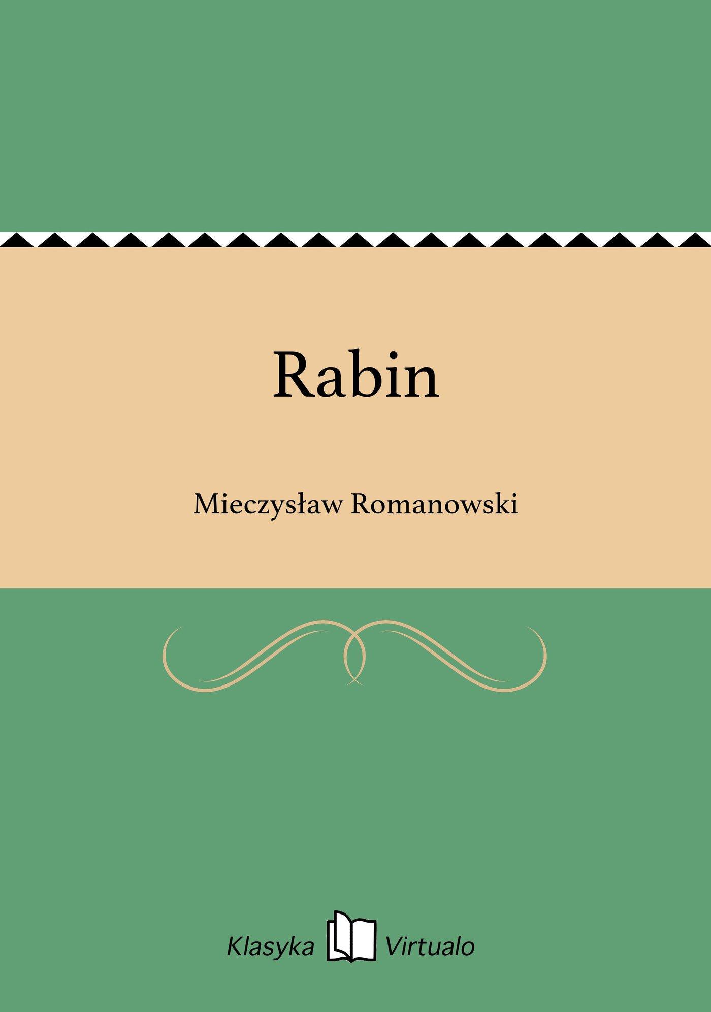 Rabin - Ebook (Książka EPUB) do pobrania w formacie EPUB