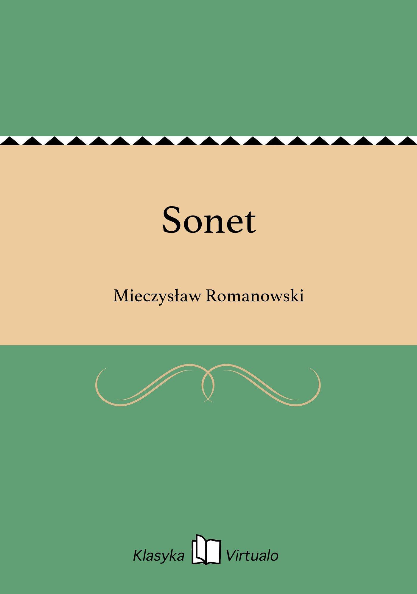 Sonet - Ebook (Książka EPUB) do pobrania w formacie EPUB