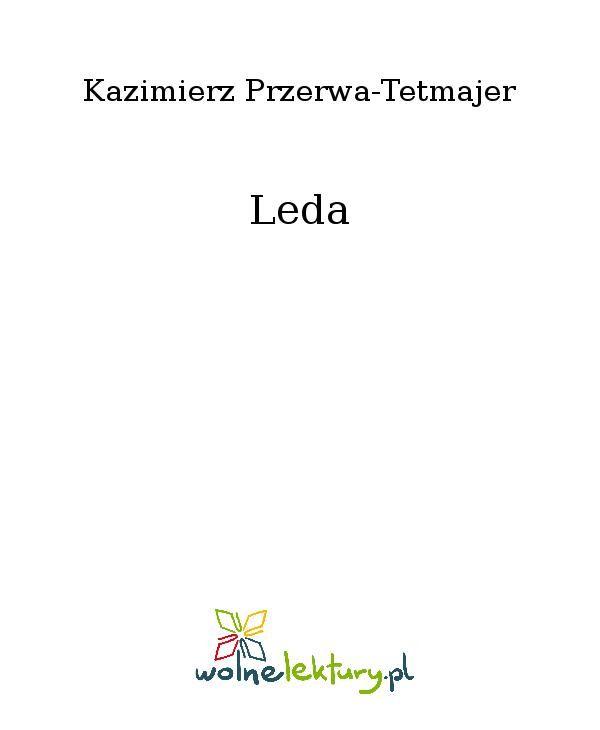 Leda - Ebook (Książka EPUB) do pobrania w formacie EPUB