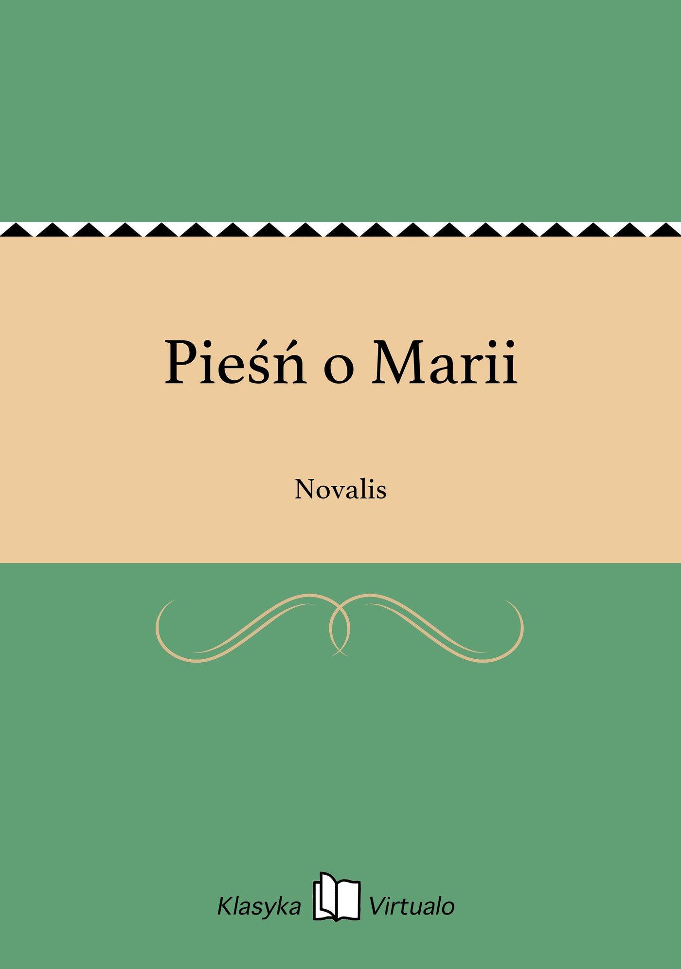 Pieśń o Marii - Ebook (Książka EPUB) do pobrania w formacie EPUB