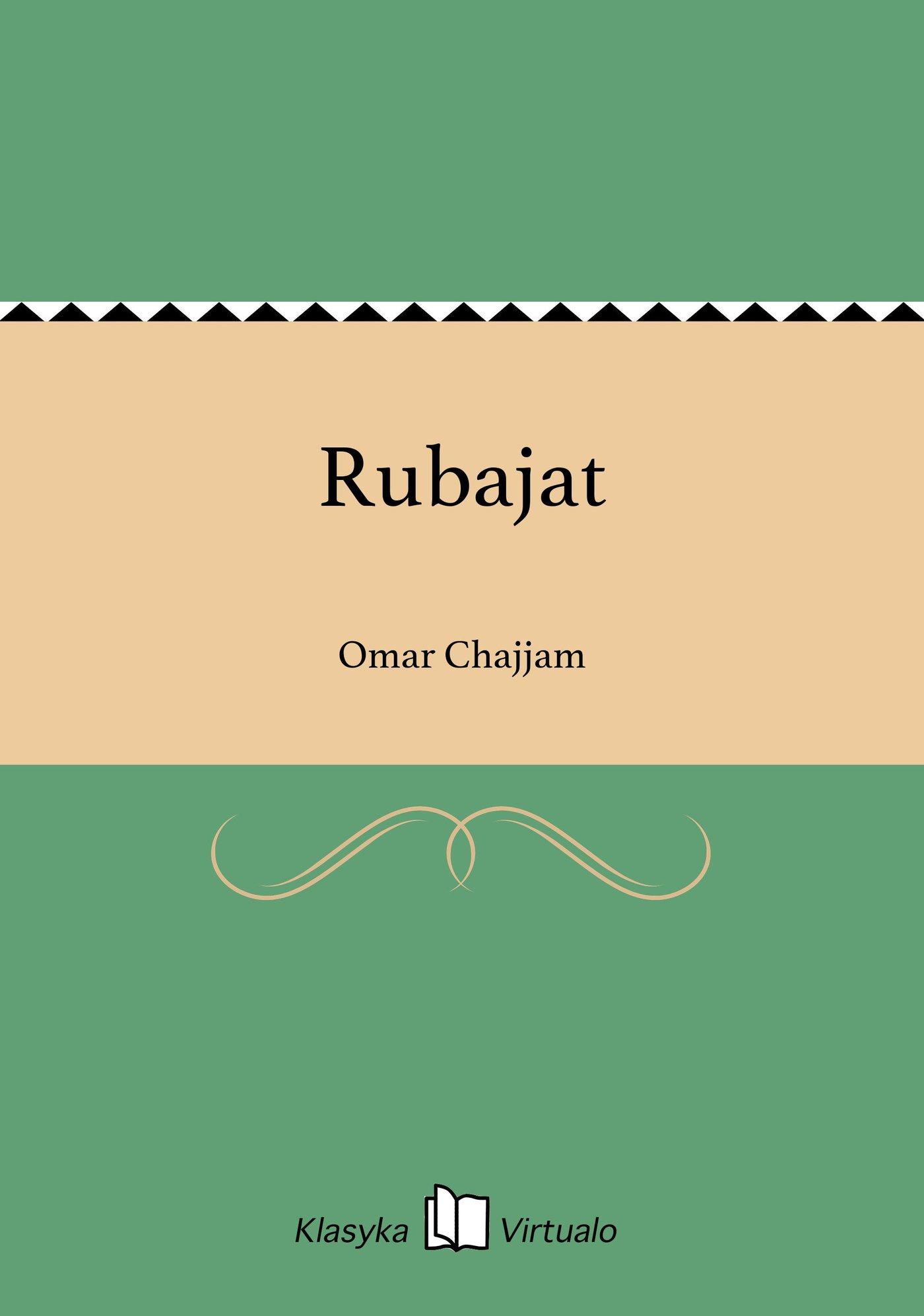 Rubajat - Ebook (Książka EPUB) do pobrania w formacie EPUB
