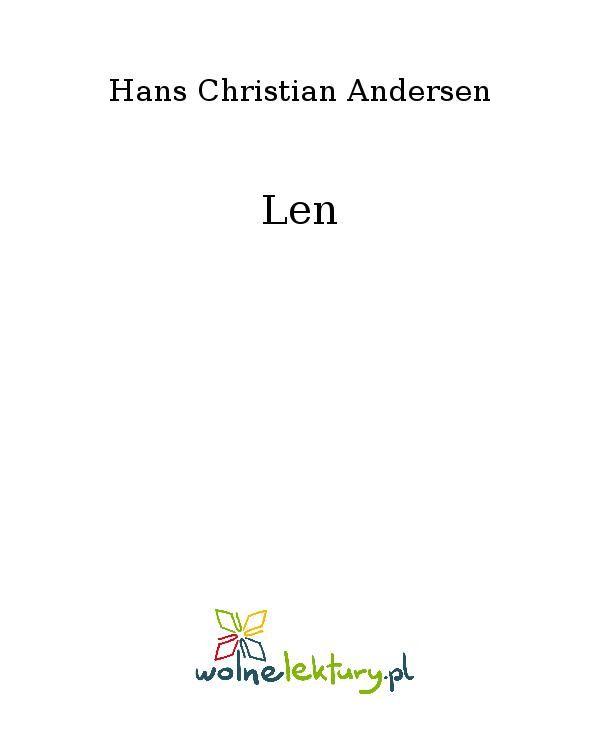 Len - Ebook (Książka EPUB) do pobrania w formacie EPUB