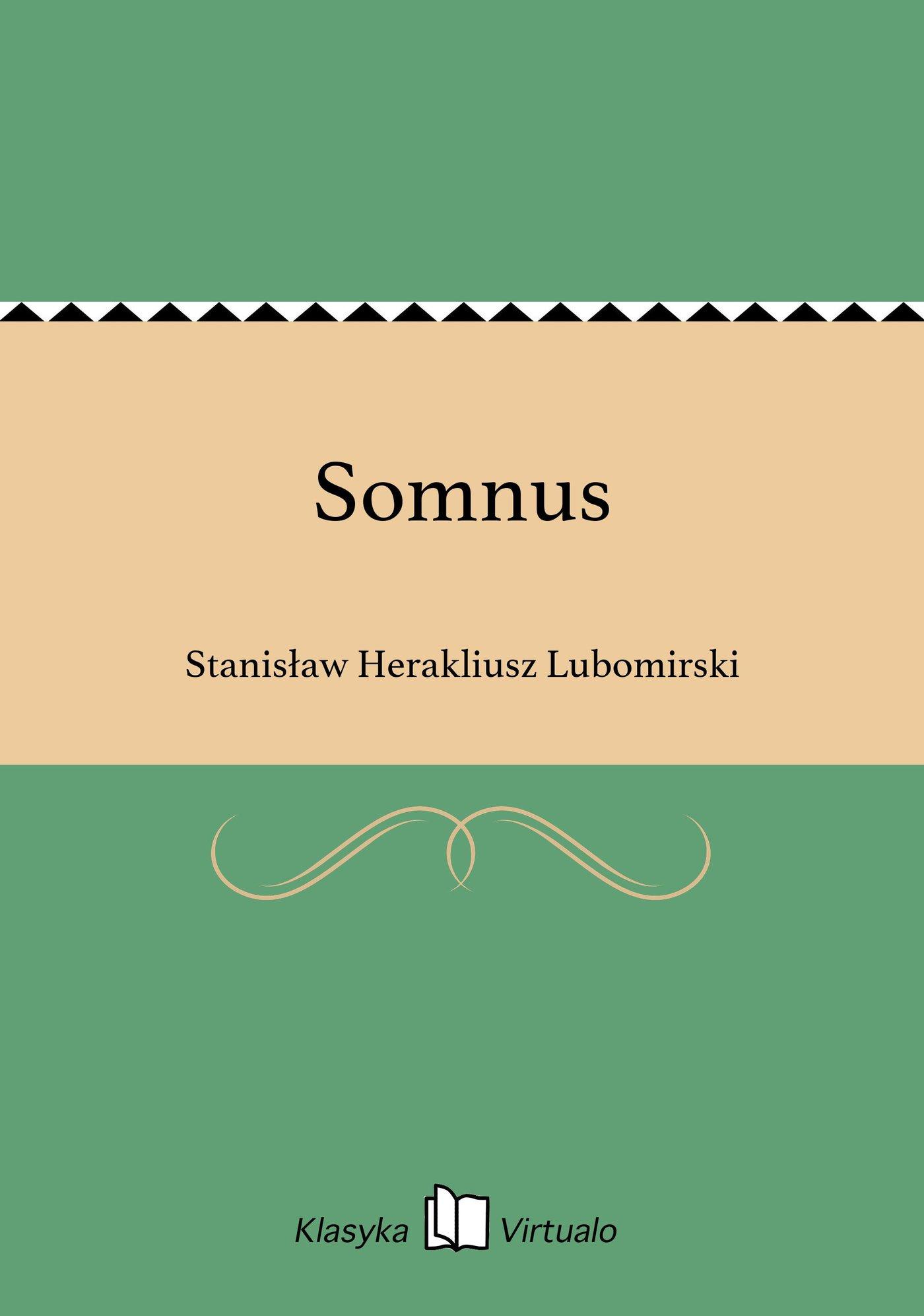 Somnus - Ebook (Książka EPUB) do pobrania w formacie EPUB