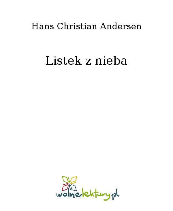 Listek z nieba - Ebook (Książka EPUB) do pobrania w formacie EPUB