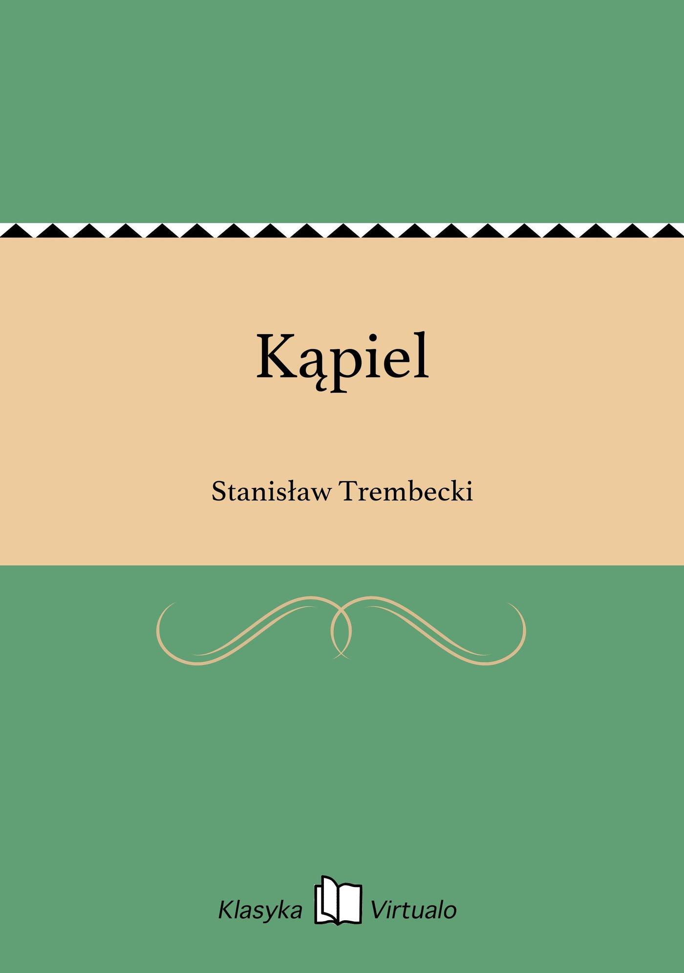 Kąpiel - Ebook (Książka EPUB) do pobrania w formacie EPUB