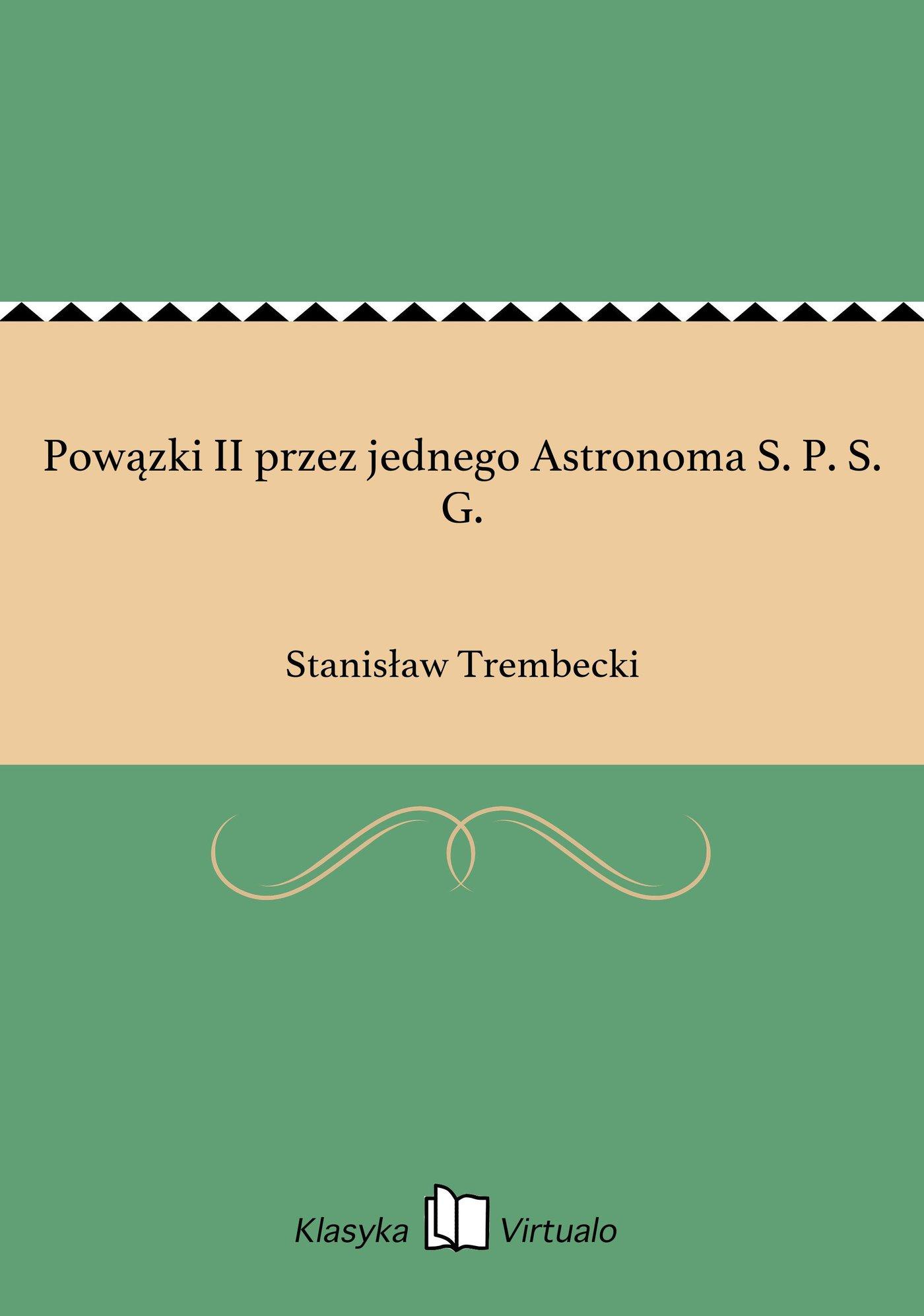 Powązki II przez jednego Astronoma S. P. S. G. - Ebook (Książka EPUB) do pobrania w formacie EPUB
