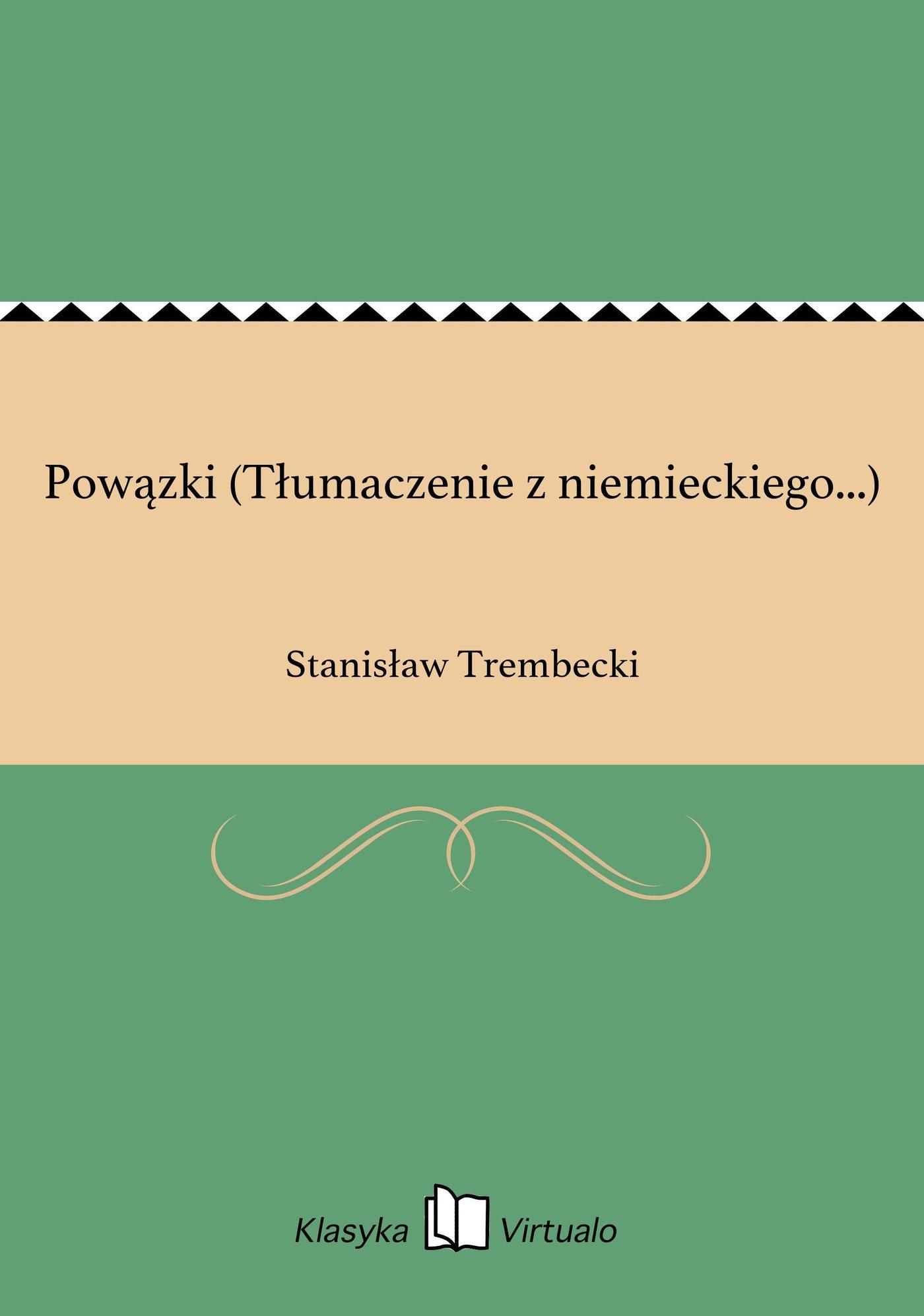 Powązki (Tłumaczenie z niemieckiego...) - Ebook (Książka EPUB) do pobrania w formacie EPUB