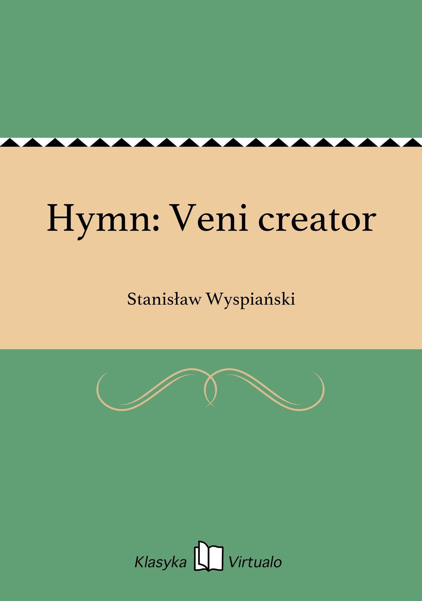 Hymn: Veni creator - Ebook (Książka EPUB) do pobrania w formacie EPUB
