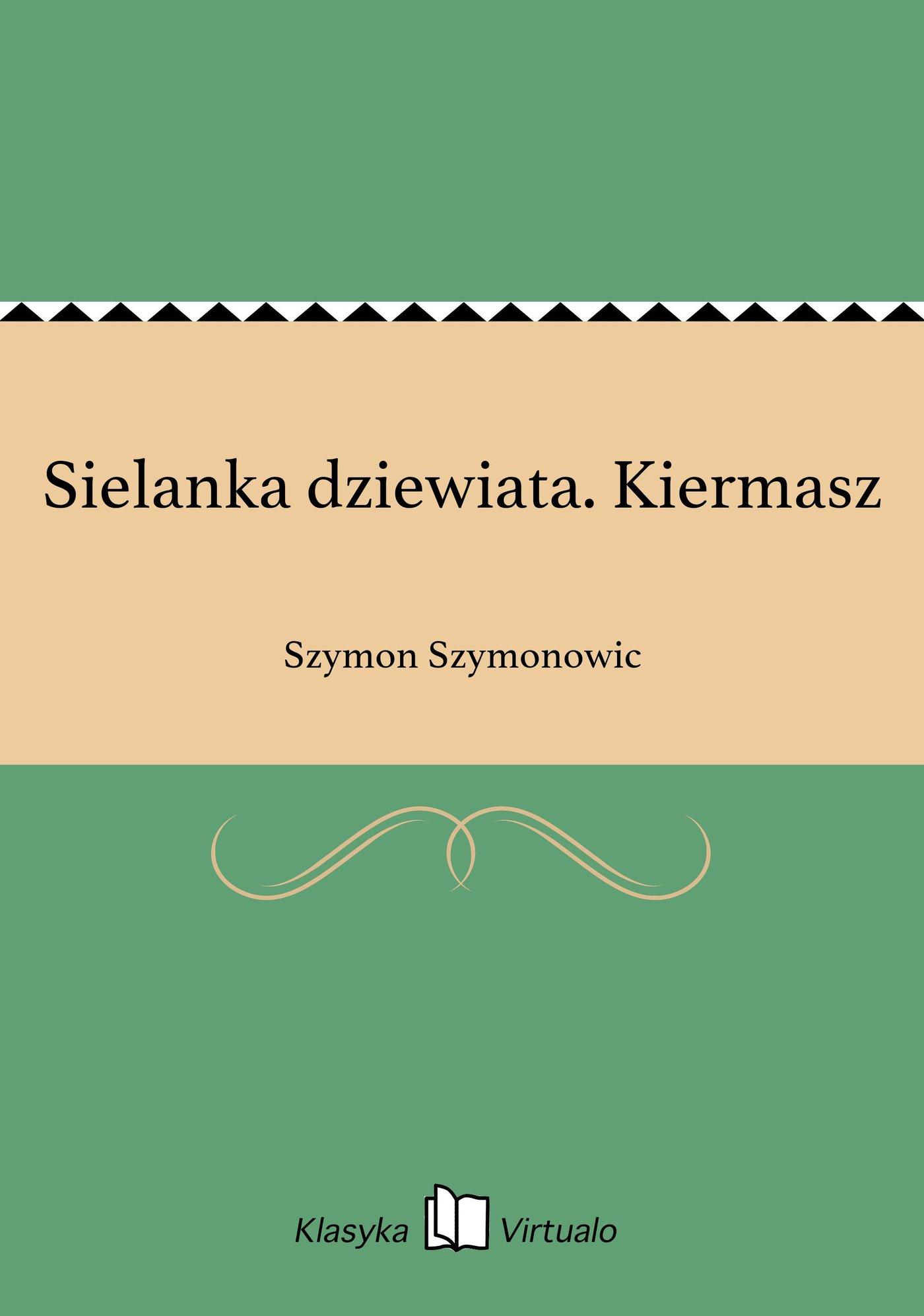 Sielanka dziewiata. Kiermasz - Ebook (Książka EPUB) do pobrania w formacie EPUB