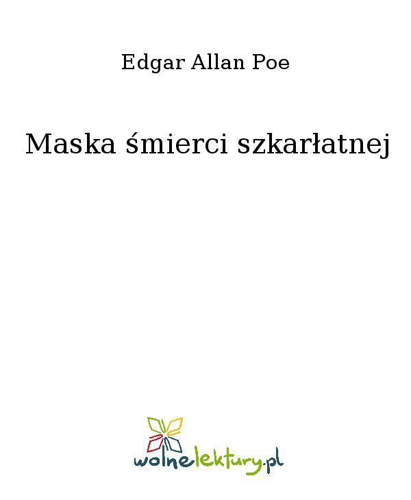 Maska śmierci szkarłatnej - Ebook (Książka EPUB) do pobrania w formacie EPUB
