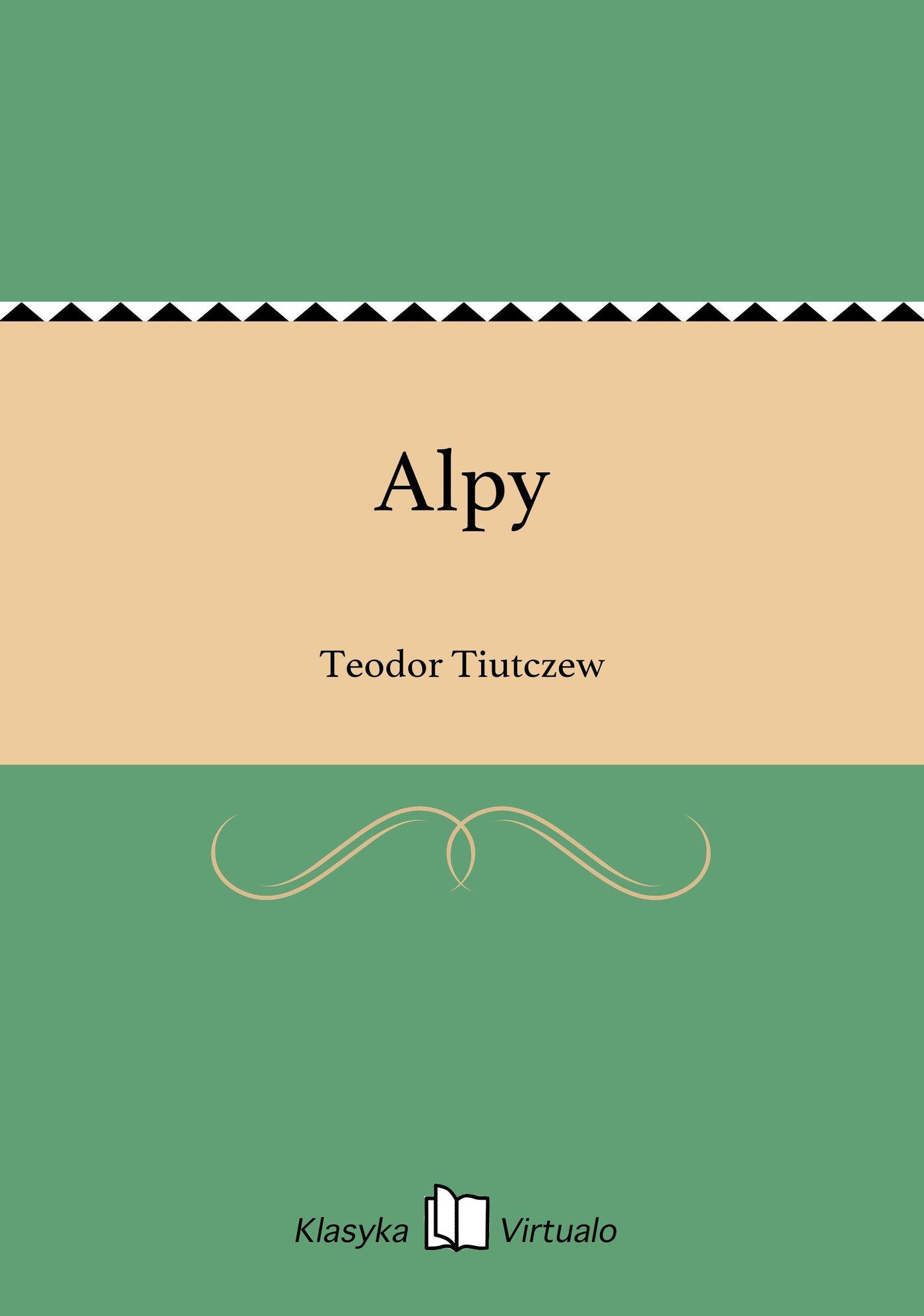 Alpy - Ebook (Książka EPUB) do pobrania w formacie EPUB