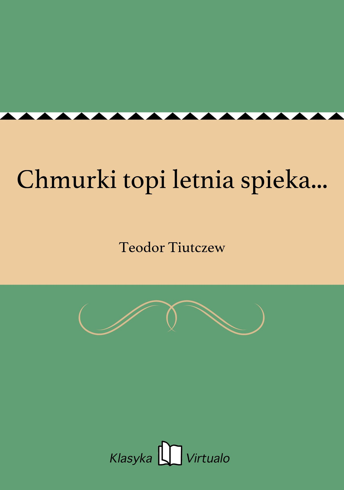 Chmurki topi letnia spieka... - Ebook (Książka EPUB) do pobrania w formacie EPUB