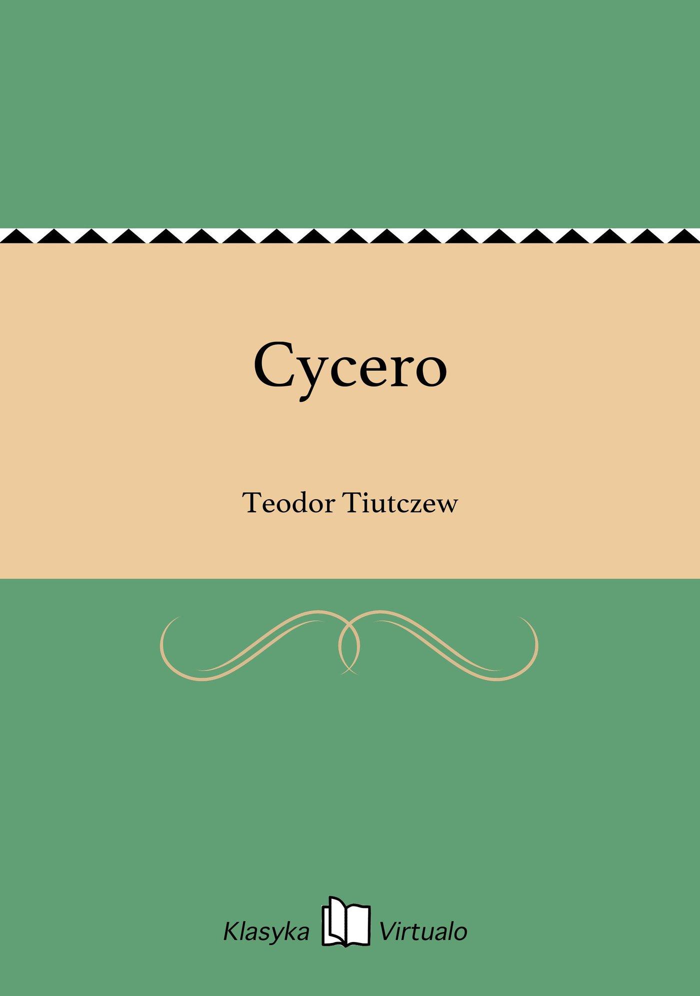 Cycero - Ebook (Książka EPUB) do pobrania w formacie EPUB