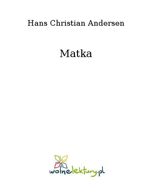 Matka - Ebook (Książka EPUB) do pobrania w formacie EPUB