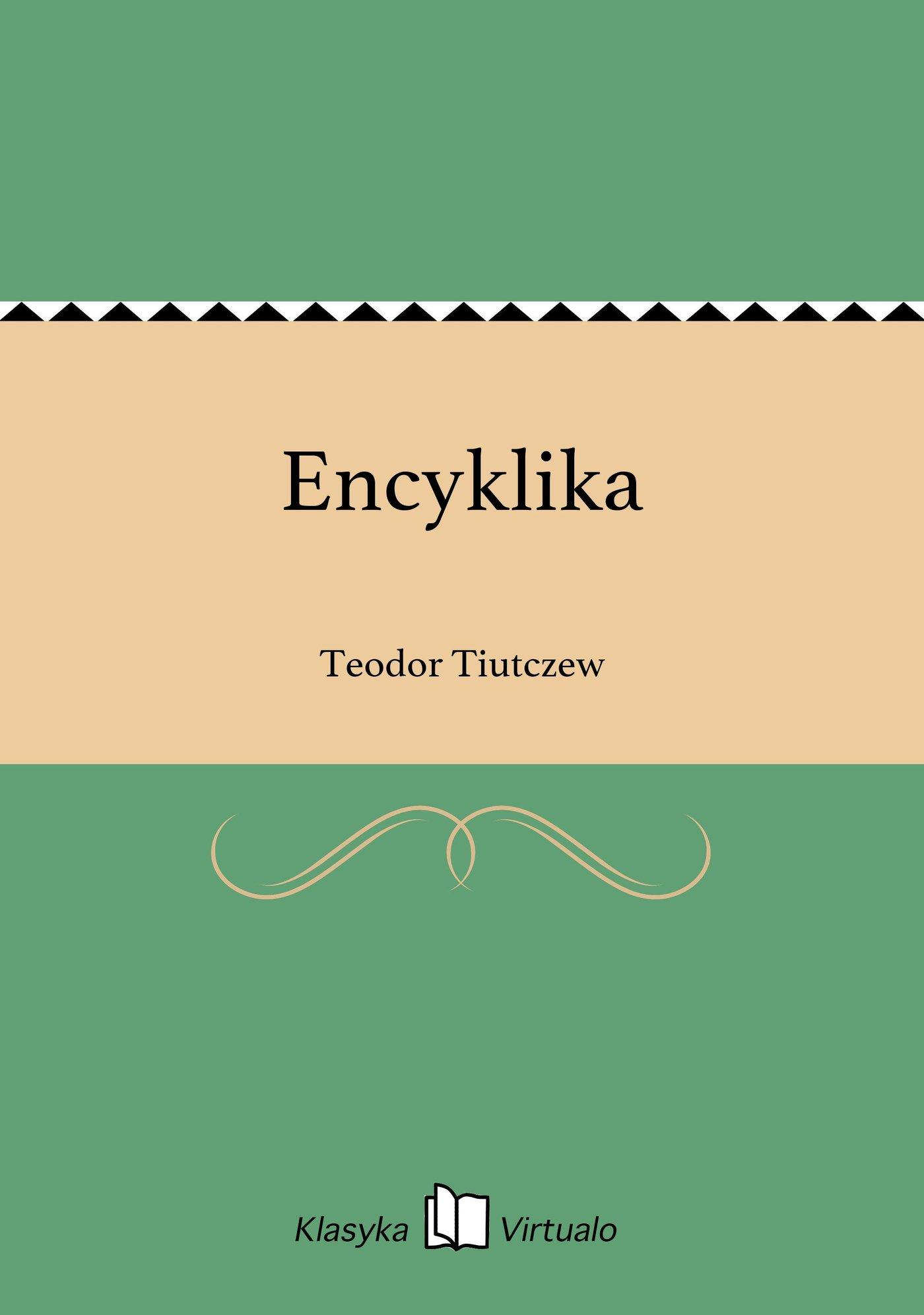 Encyklika - Ebook (Książka EPUB) do pobrania w formacie EPUB