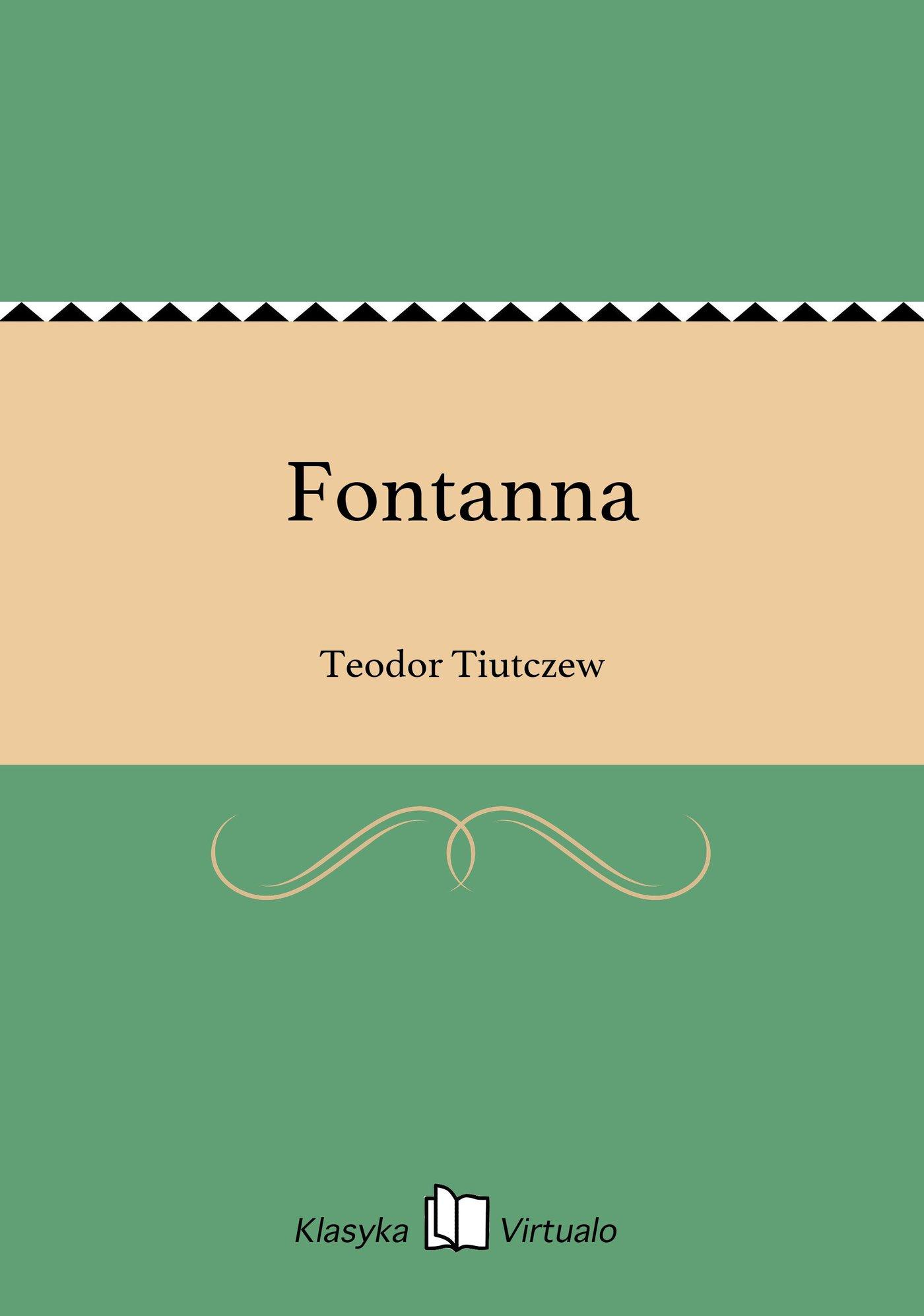 Fontanna - Ebook (Książka EPUB) do pobrania w formacie EPUB