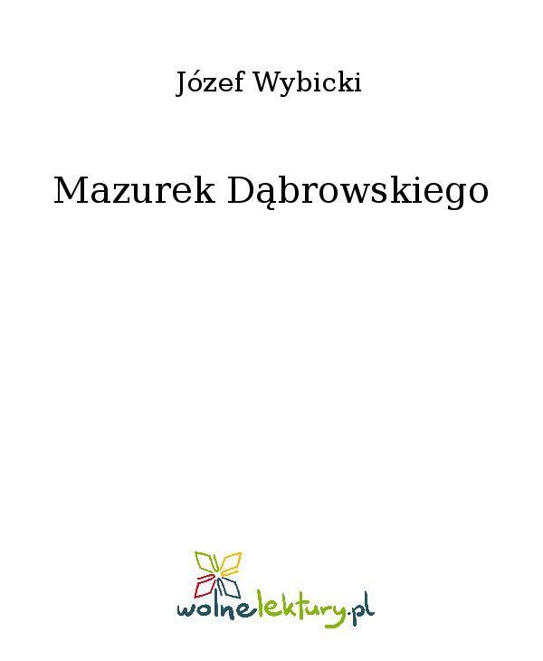 Mazurek Dąbrowskiego - Ebook (Książka EPUB) do pobrania w formacie EPUB