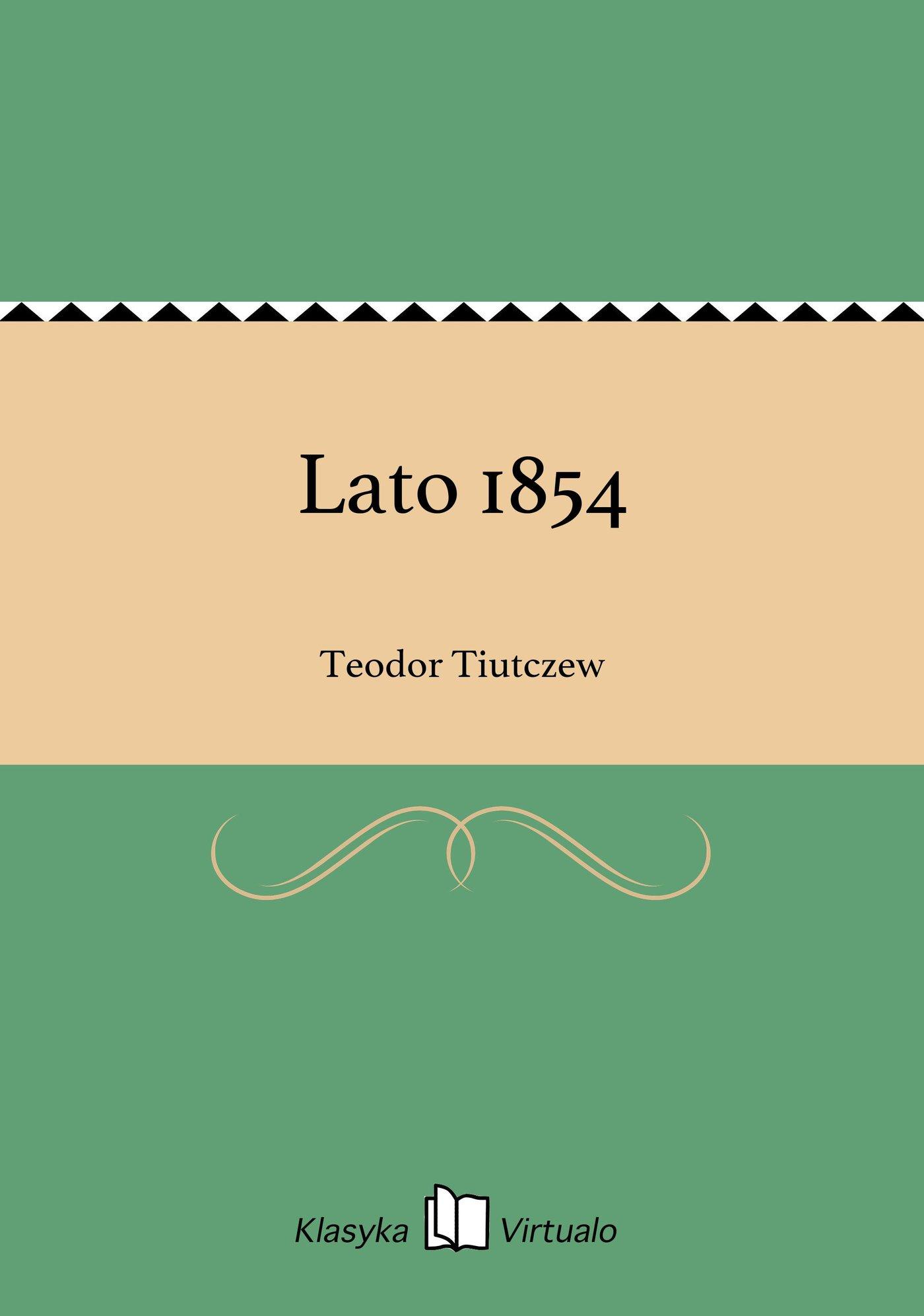 Lato 1854 - Ebook (Książka EPUB) do pobrania w formacie EPUB