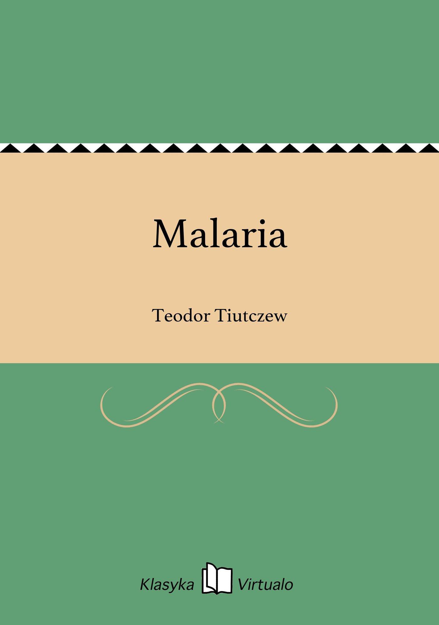 Malaria - Ebook (Książka EPUB) do pobrania w formacie EPUB