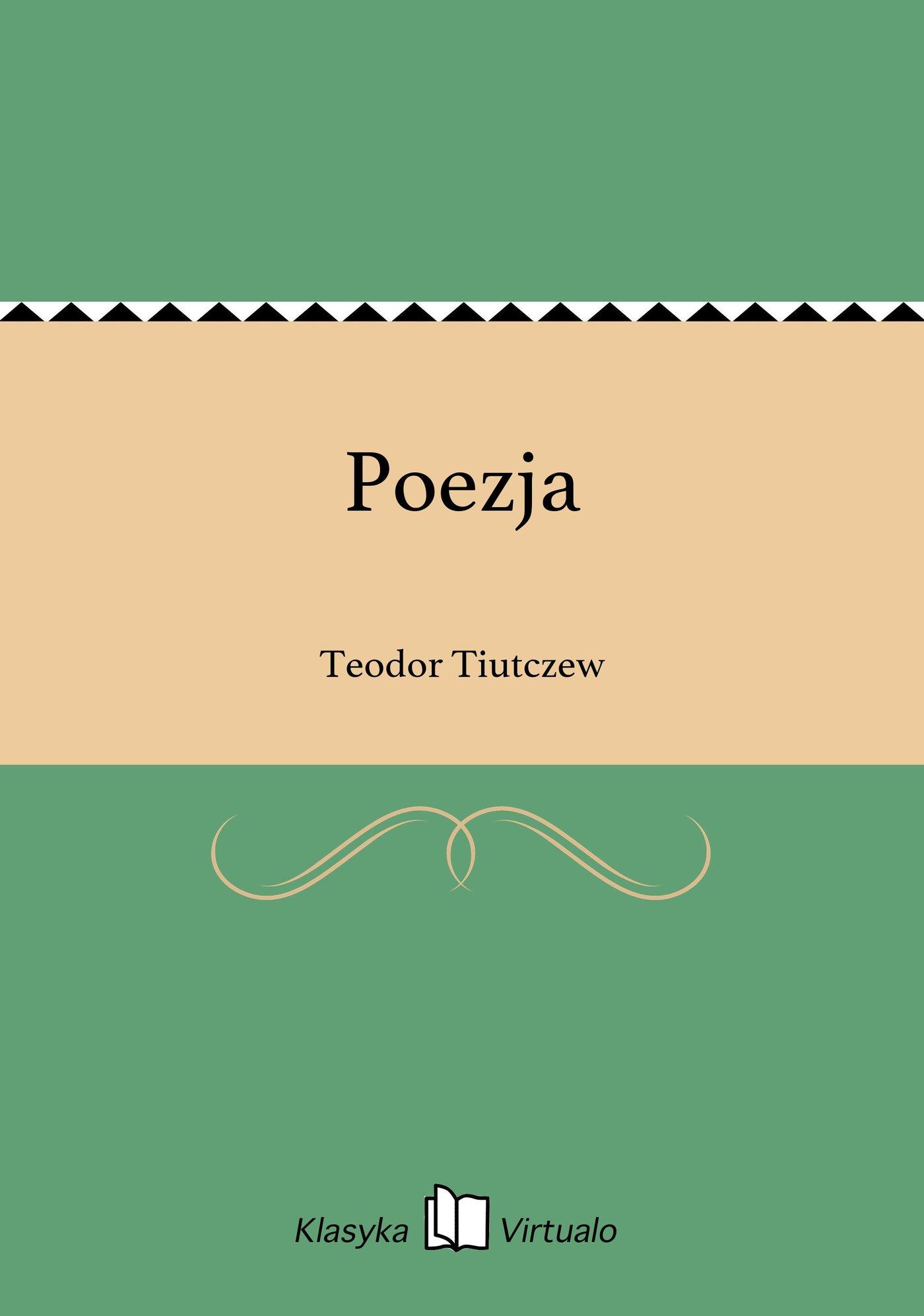 Poezja - Ebook (Książka EPUB) do pobrania w formacie EPUB