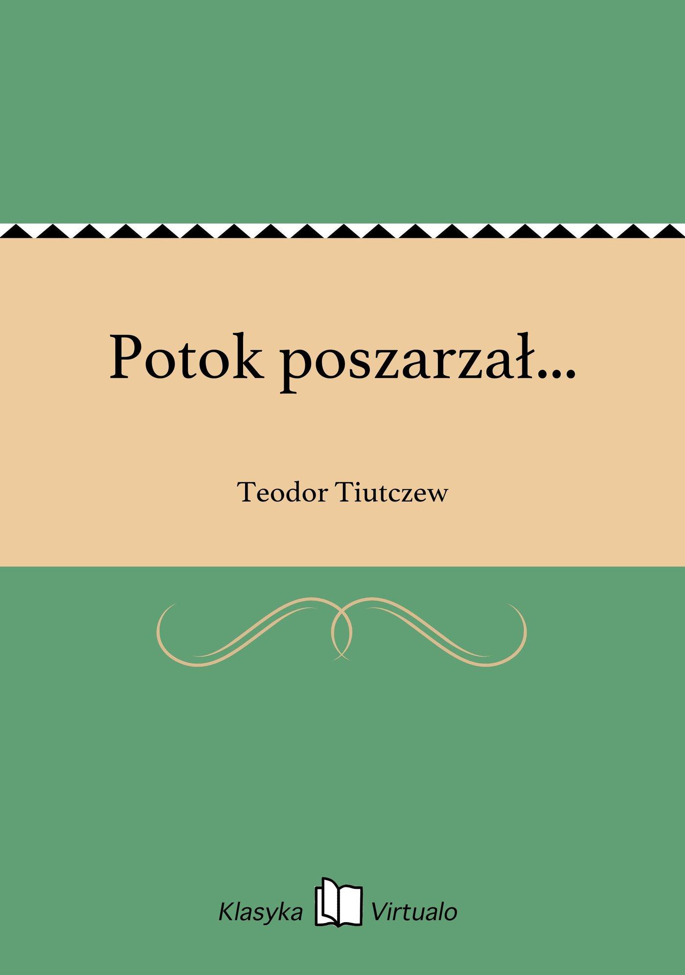Potok poszarzał... - Ebook (Książka EPUB) do pobrania w formacie EPUB