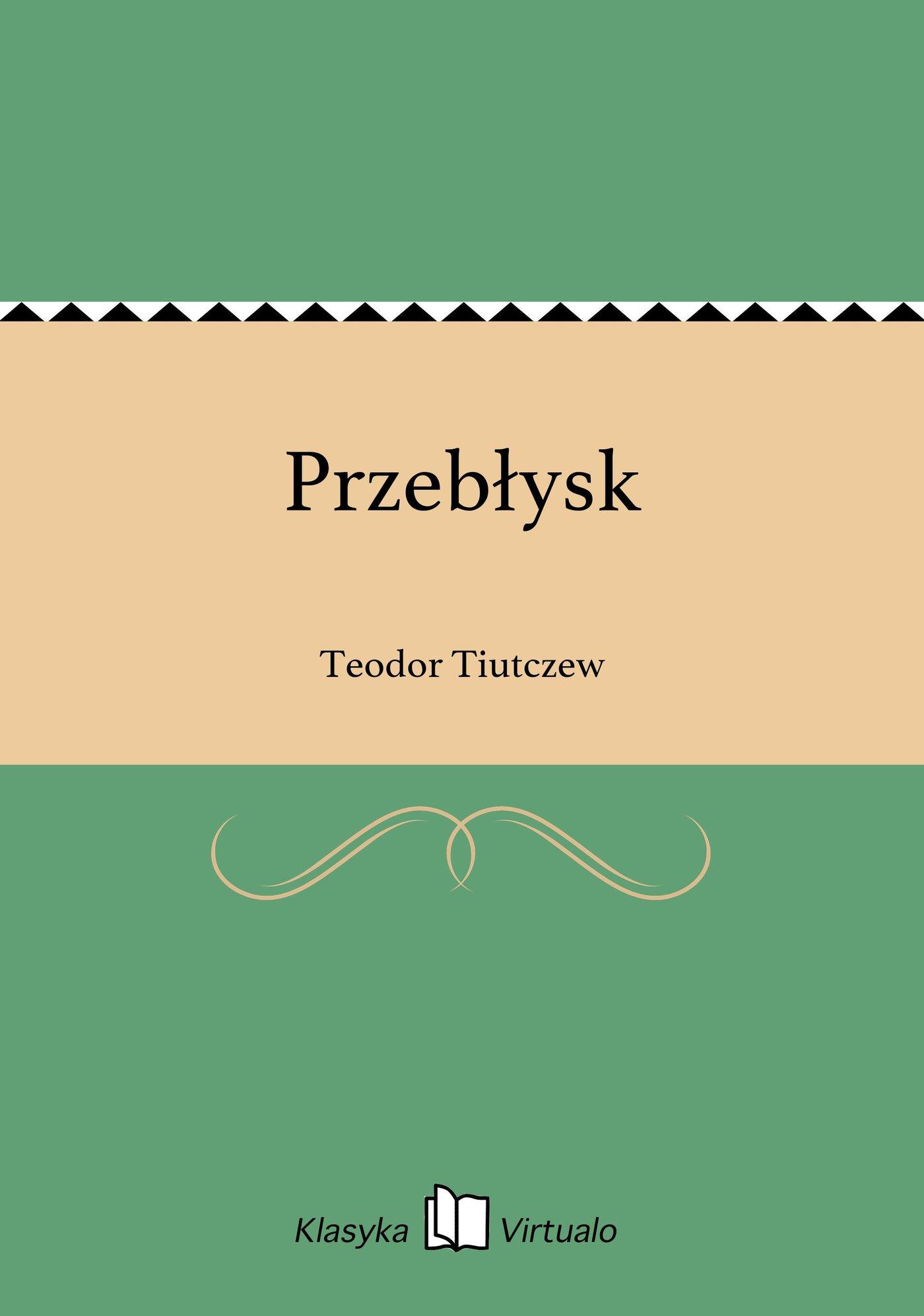 Przebłysk - Ebook (Książka EPUB) do pobrania w formacie EPUB
