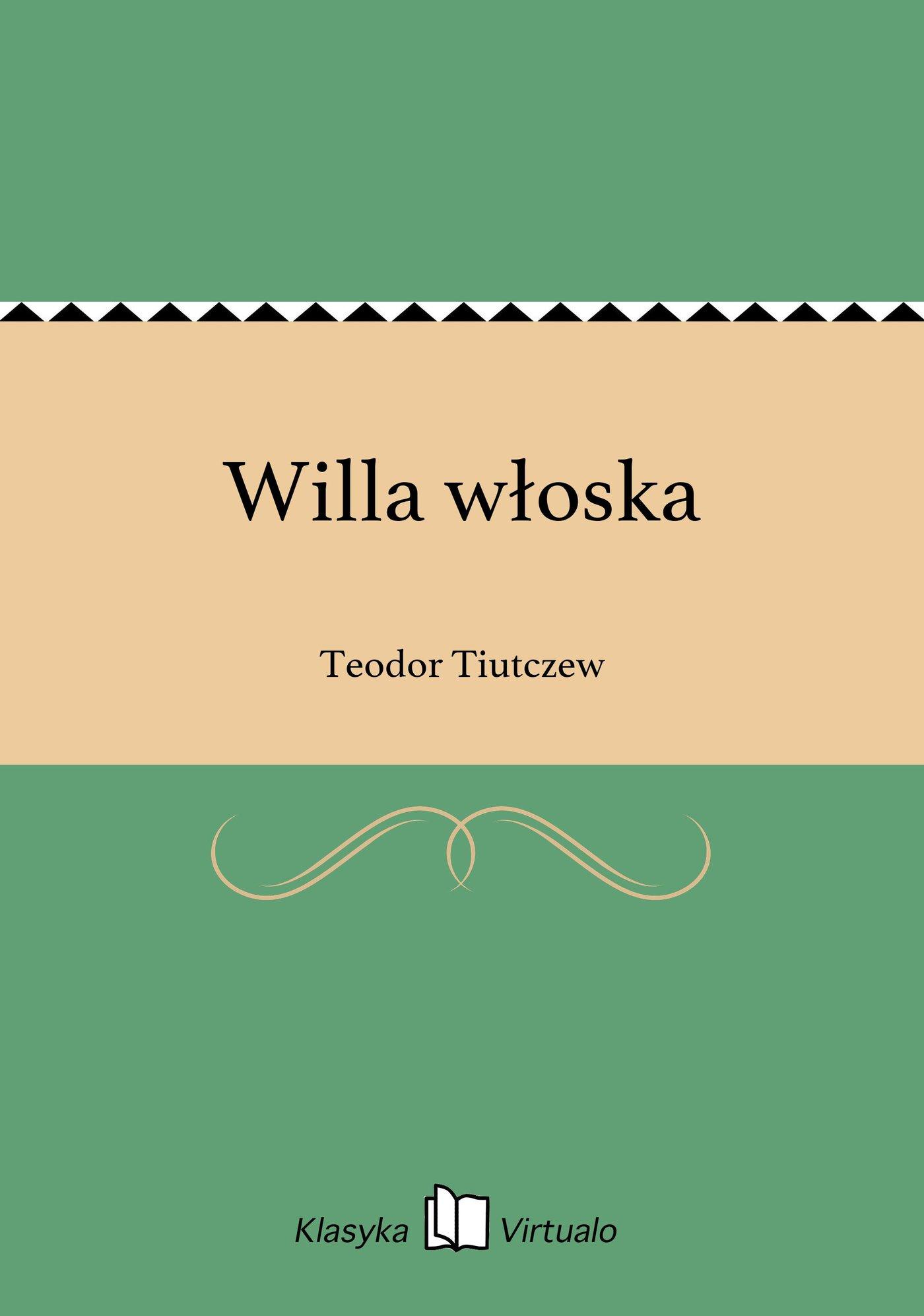 Willa włoska - Ebook (Książka EPUB) do pobrania w formacie EPUB