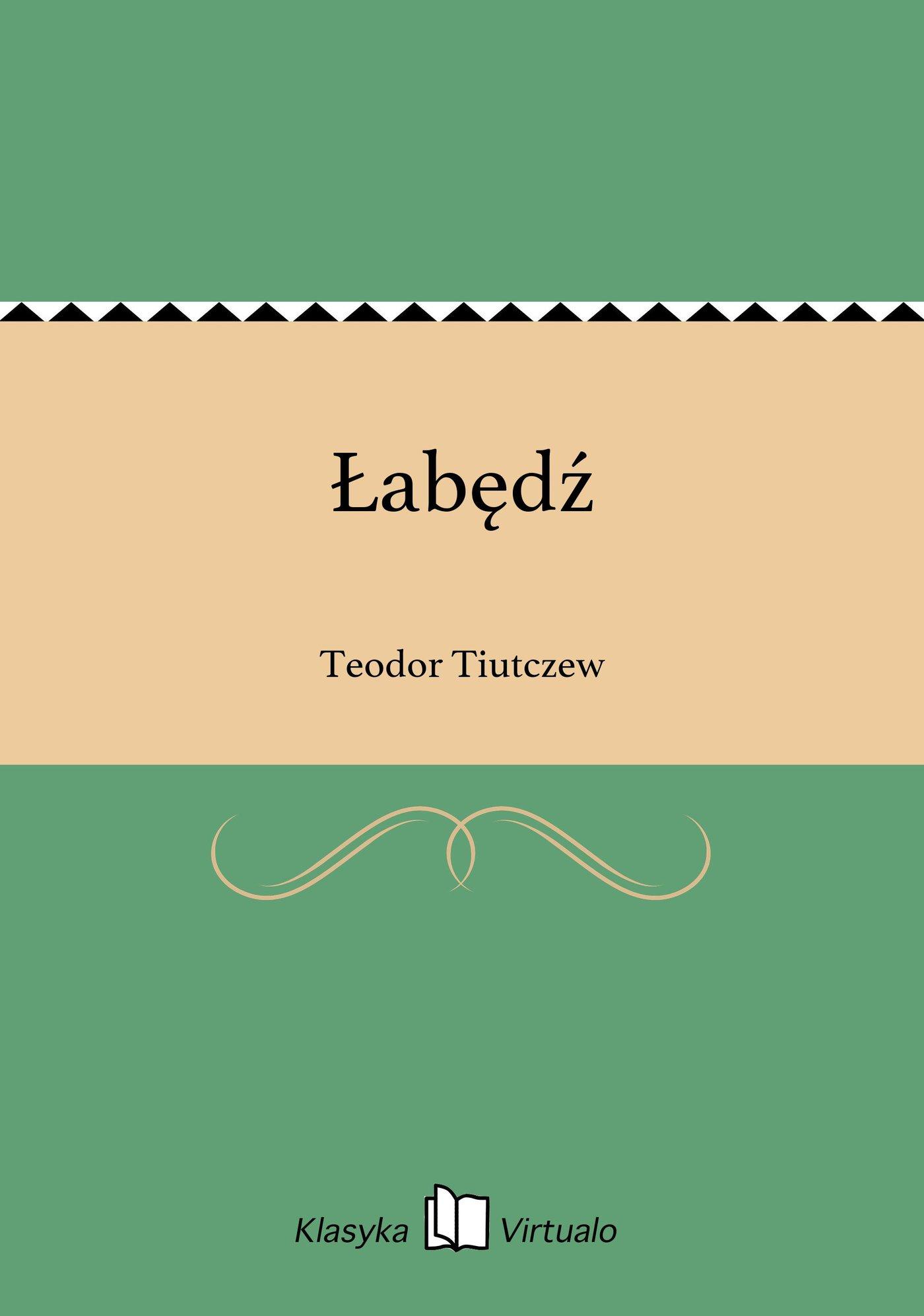 Łabędź - Ebook (Książka EPUB) do pobrania w formacie EPUB