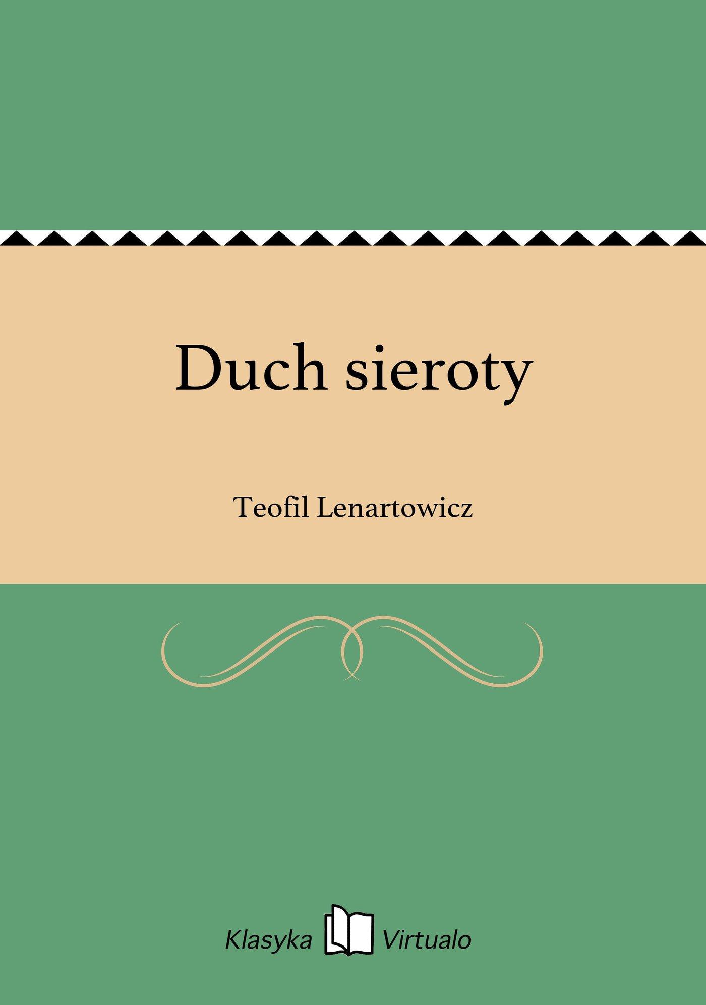 Duch sieroty - Ebook (Książka EPUB) do pobrania w formacie EPUB