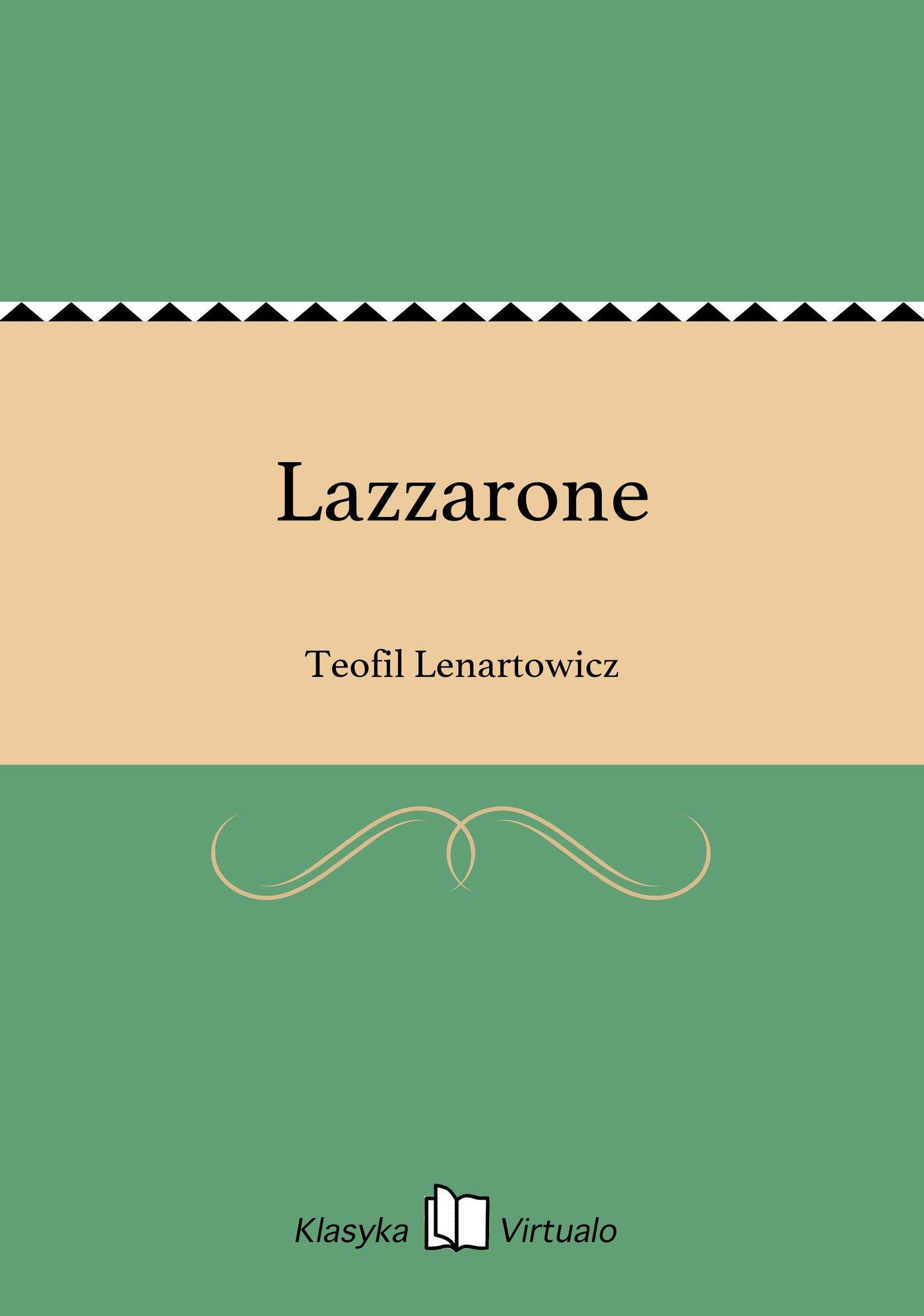 Lazzarone - Ebook (Książka EPUB) do pobrania w formacie EPUB