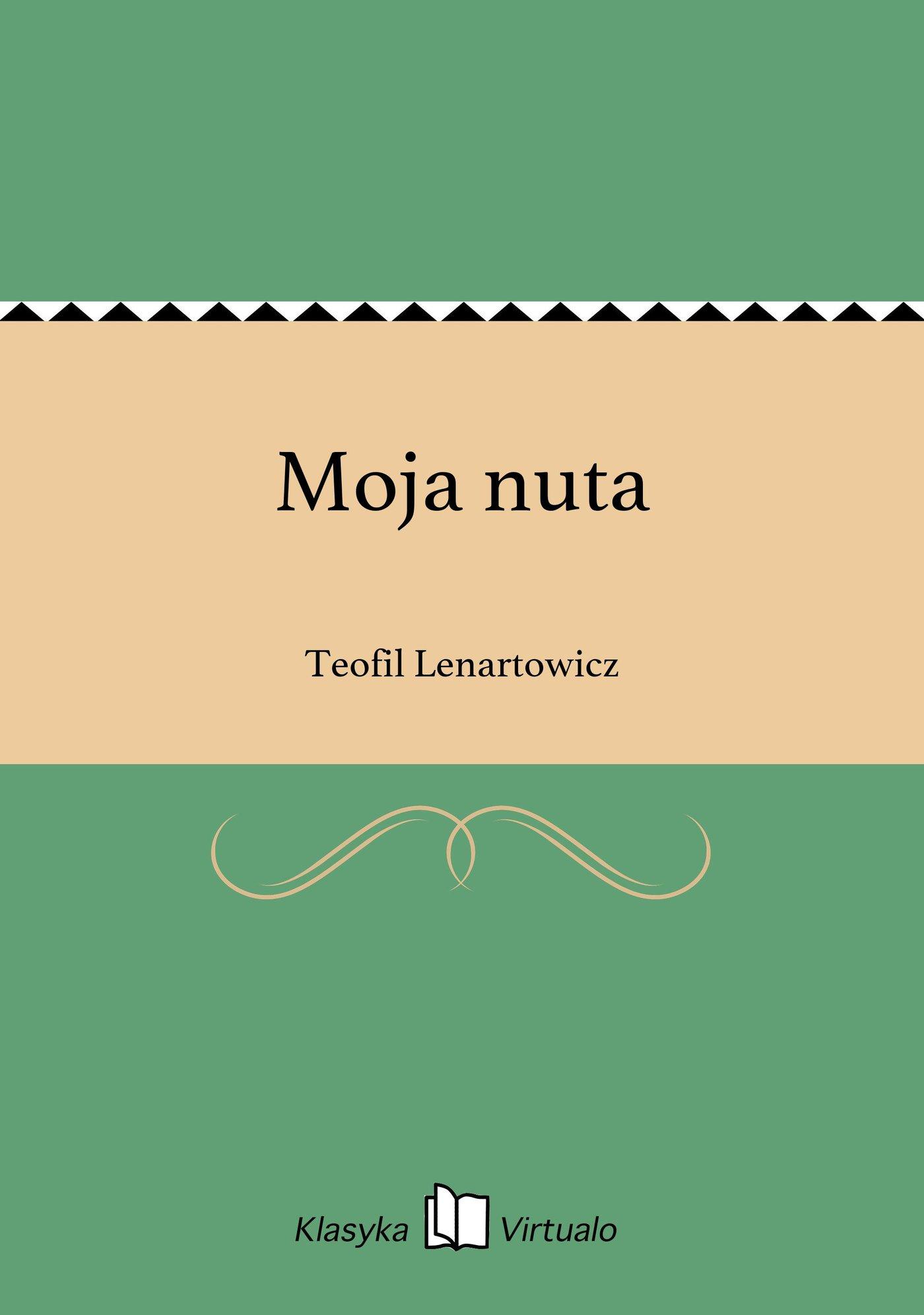 Moja nuta - Ebook (Książka EPUB) do pobrania w formacie EPUB