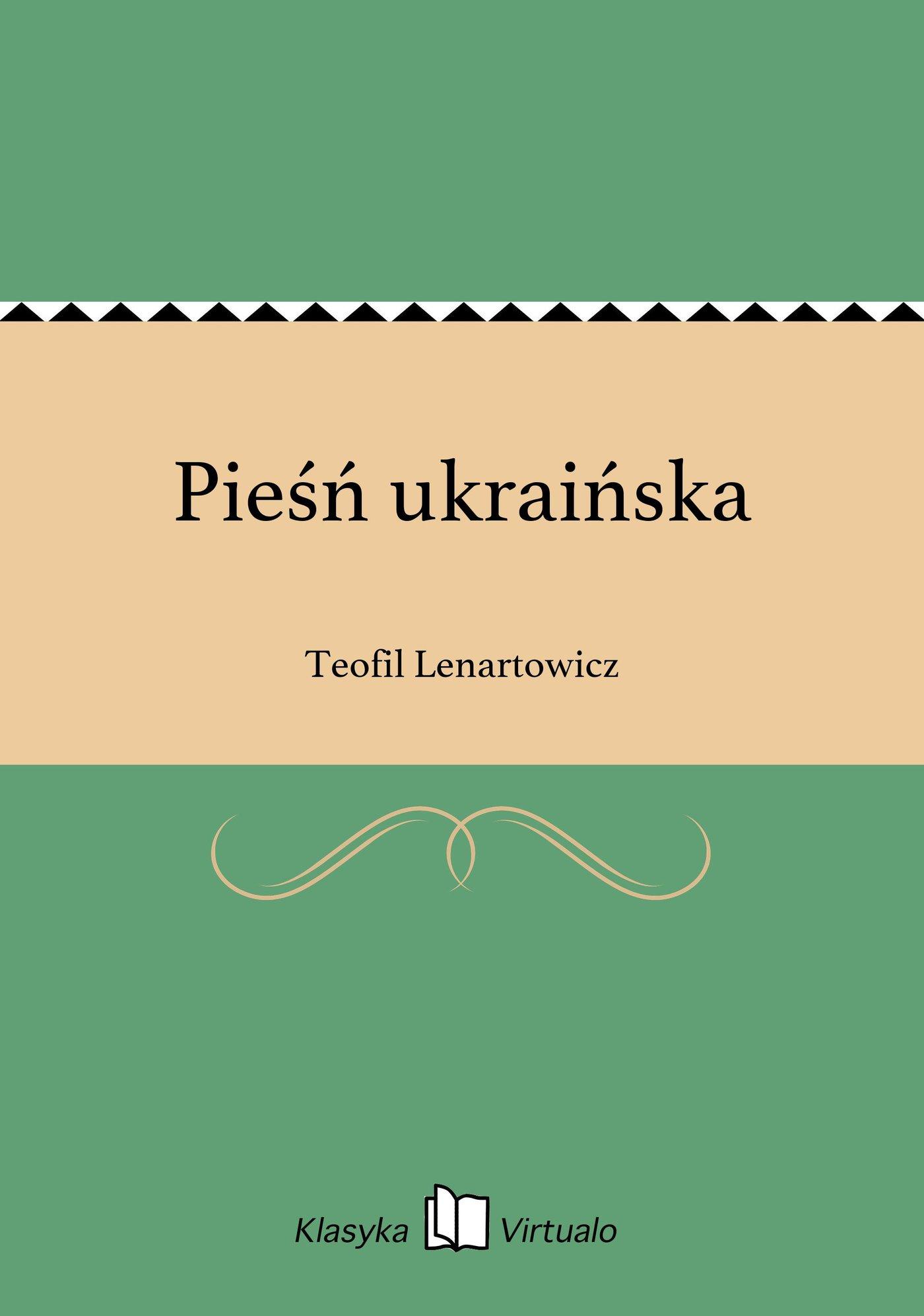 Pieśń ukraińska - Ebook (Książka EPUB) do pobrania w formacie EPUB