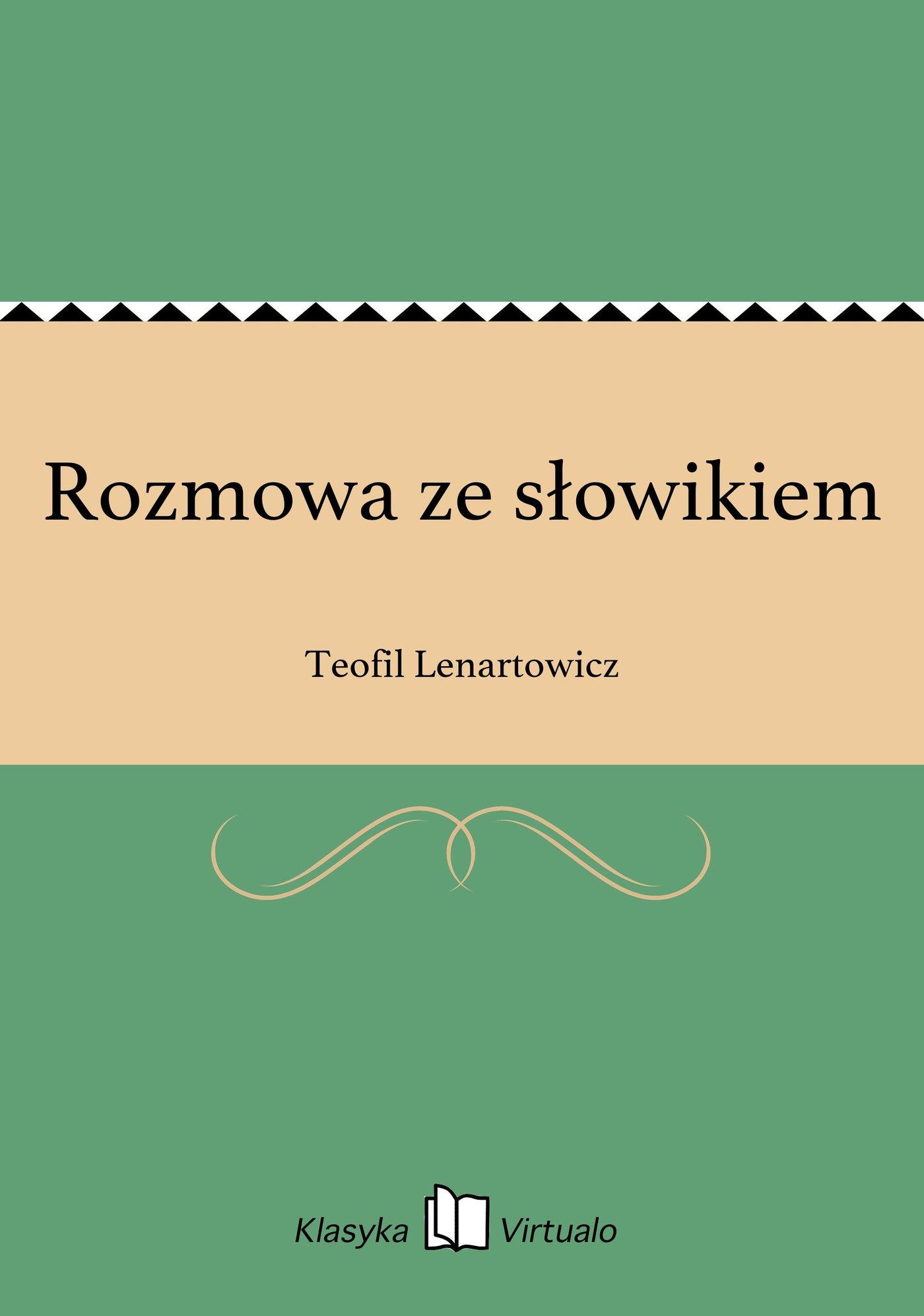 Rozmowa ze słowikiem - Ebook (Książka EPUB) do pobrania w formacie EPUB