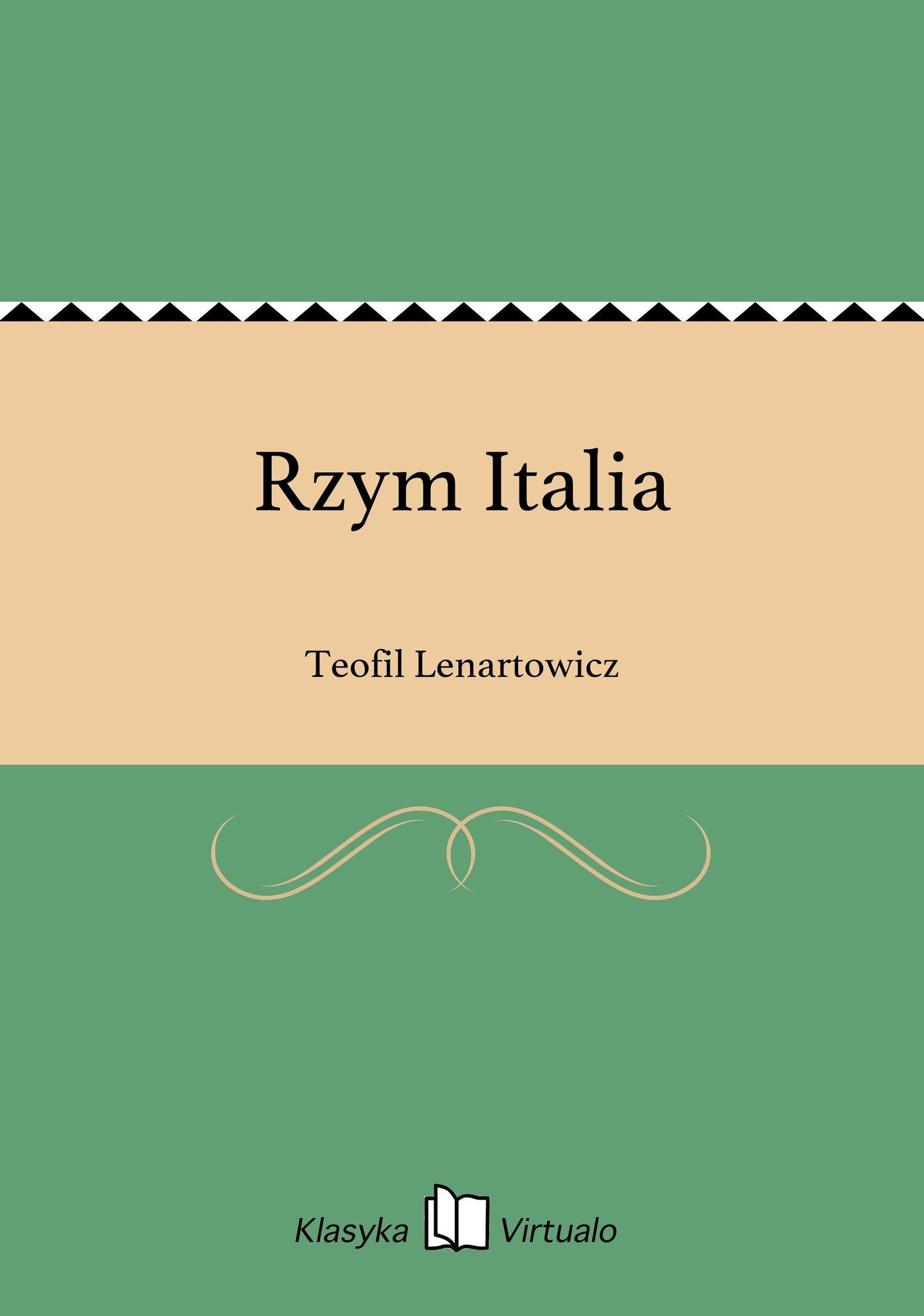 Rzym Italia - Ebook (Książka EPUB) do pobrania w formacie EPUB