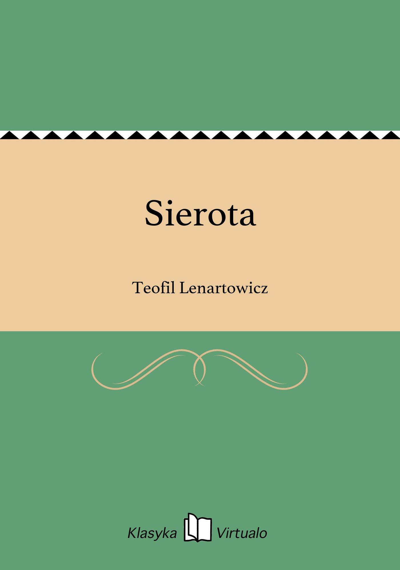 Sierota - Ebook (Książka EPUB) do pobrania w formacie EPUB