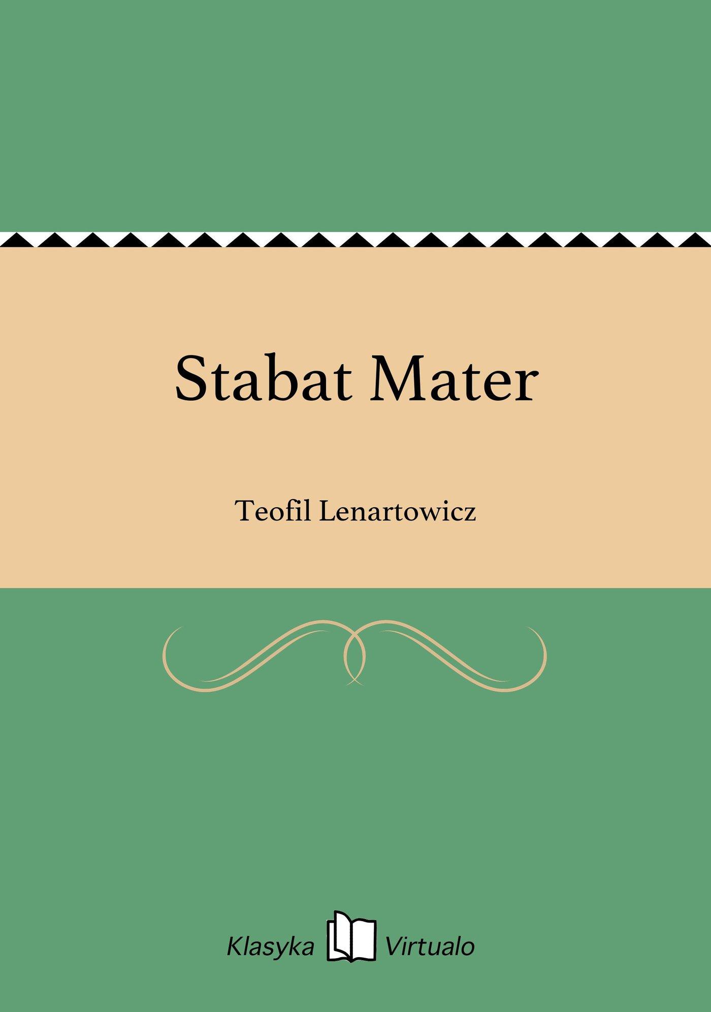 Stabat Mater - Ebook (Książka EPUB) do pobrania w formacie EPUB
